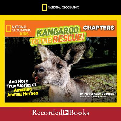 Kangaroo to the Rescue!: And More True Stories of Amazing Animal Heroes Audiobook, by Moira Rose Donohue