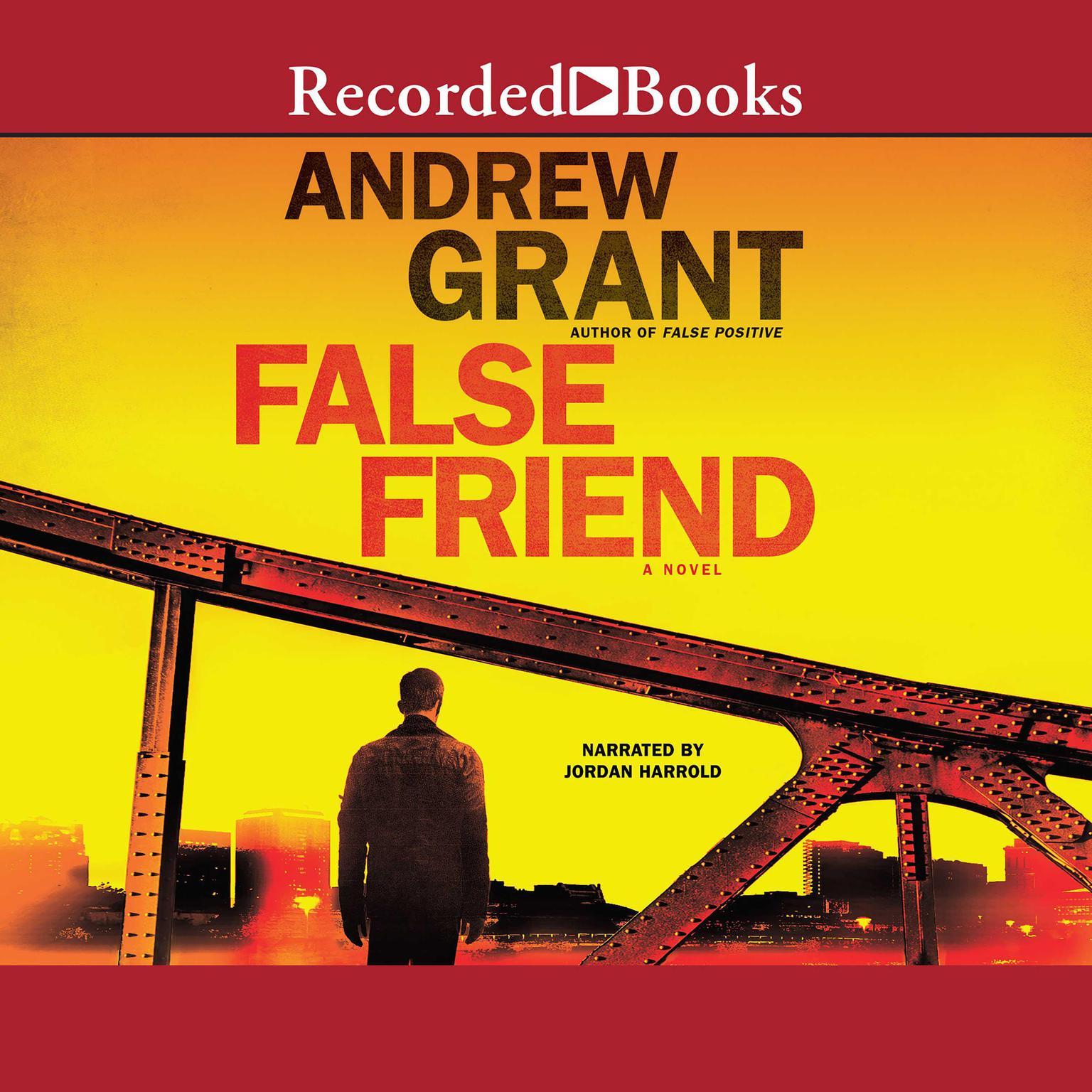 Printable False Friend Audiobook Cover Art