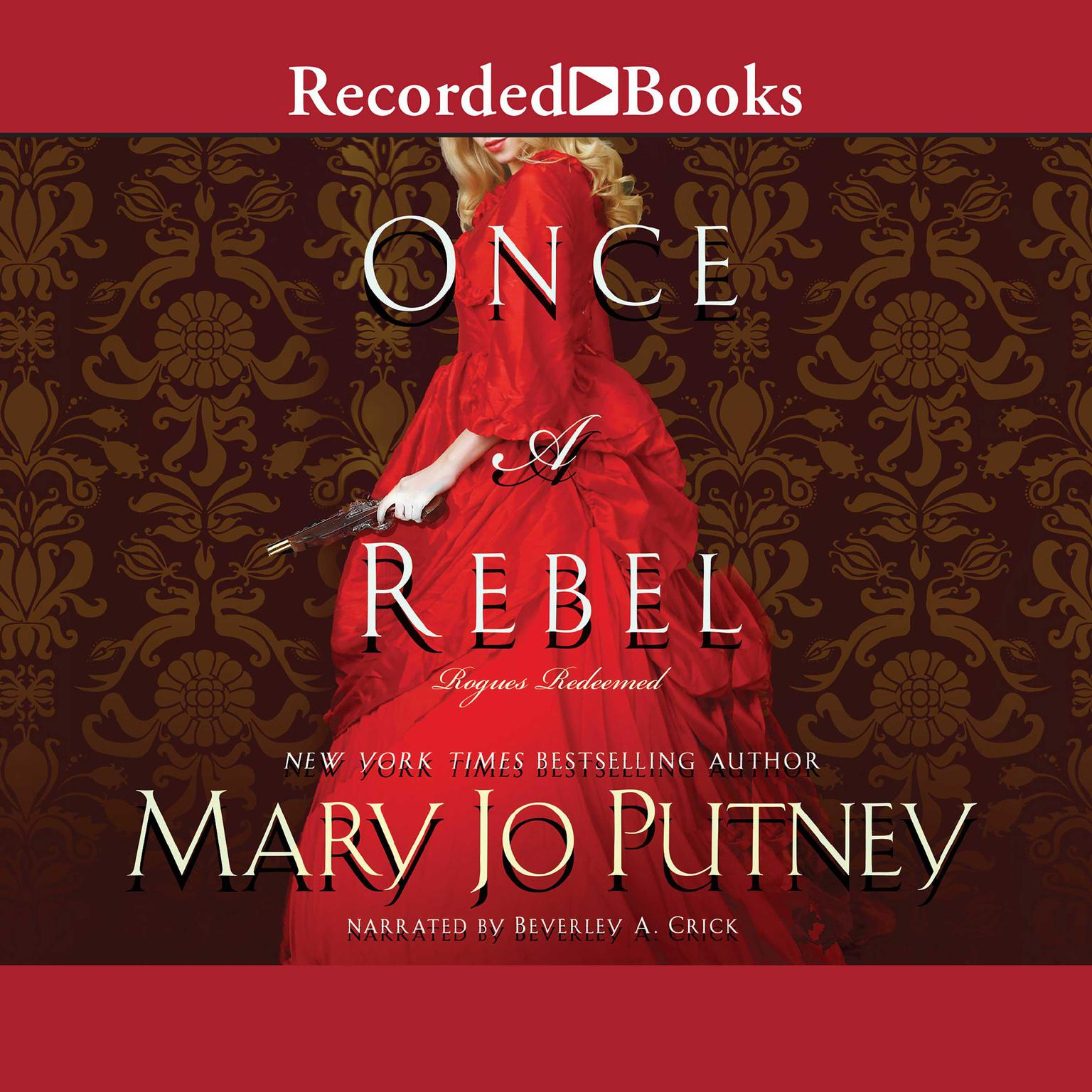 Printable Once a Rebel Audiobook Cover Art