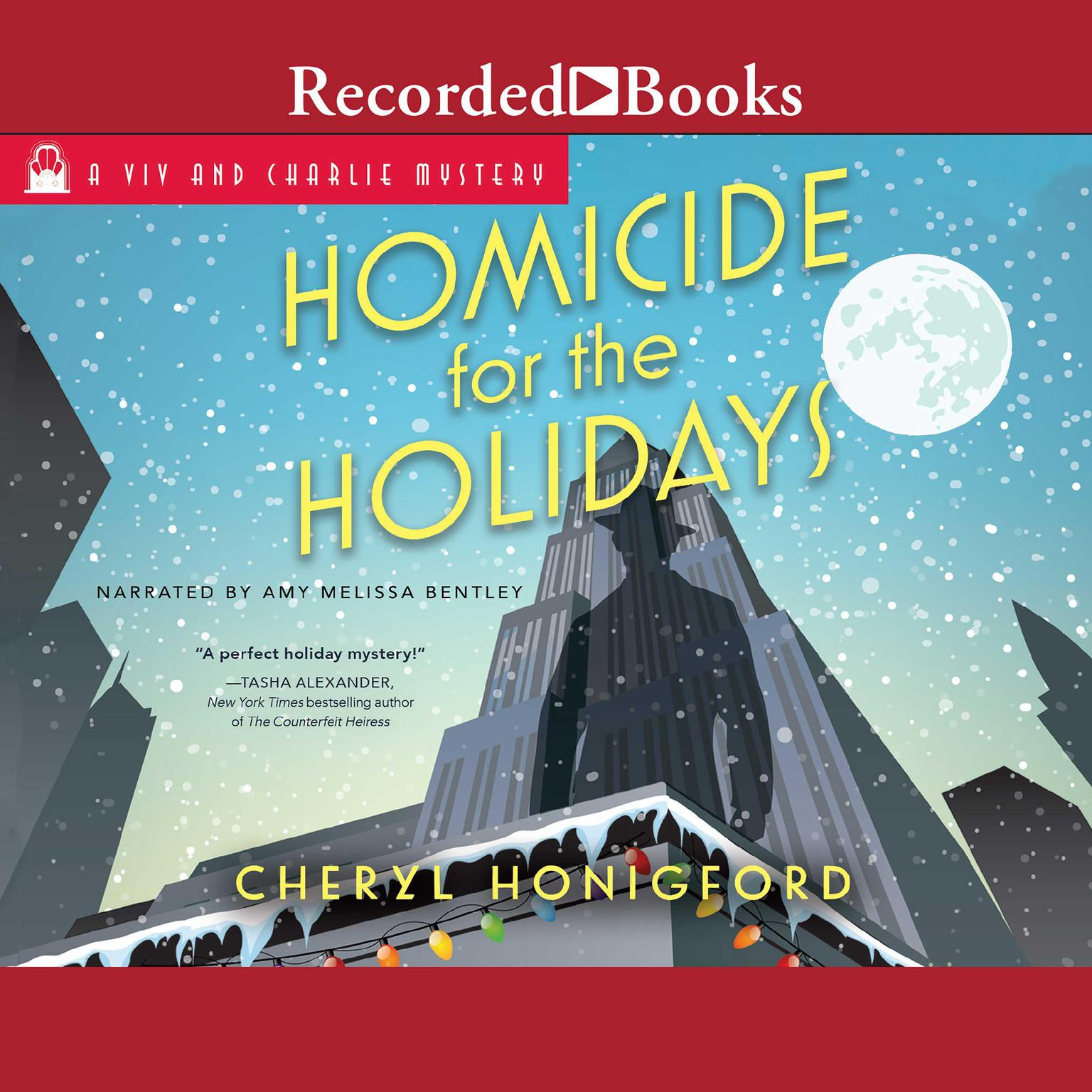 Printable Homicide for the Holidays Audiobook Cover Art