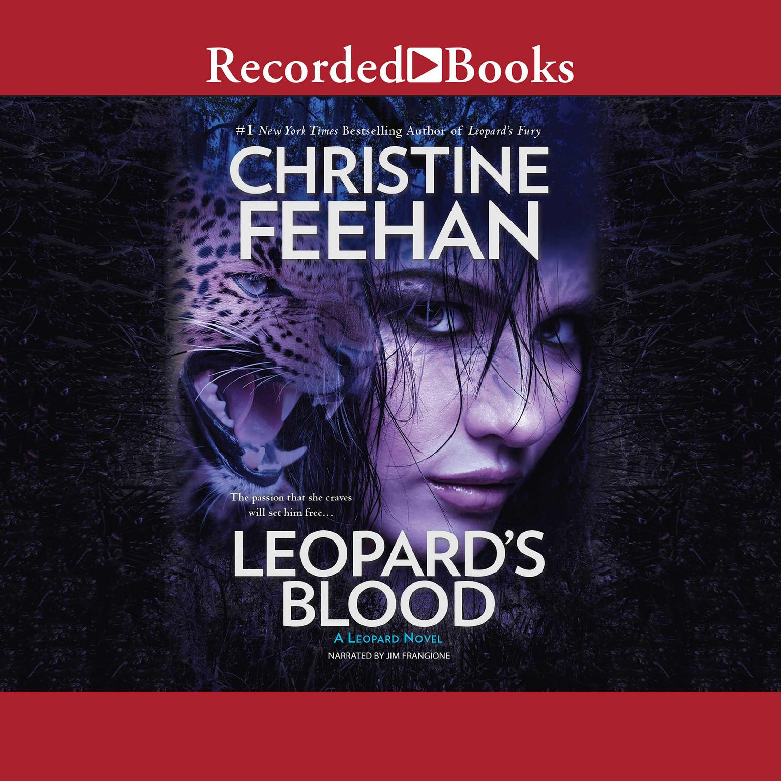 Printable Leopard's Blood Audiobook Cover Art