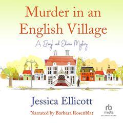 Murder in an English Village Audiobook, by Jessica Ellicott