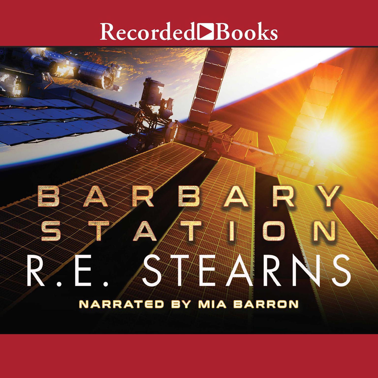 Printable Barbary Station Audiobook Cover Art