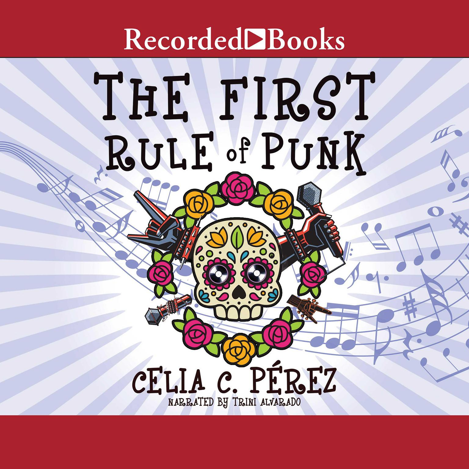 Printable The First Rule of Punk Audiobook Cover Art