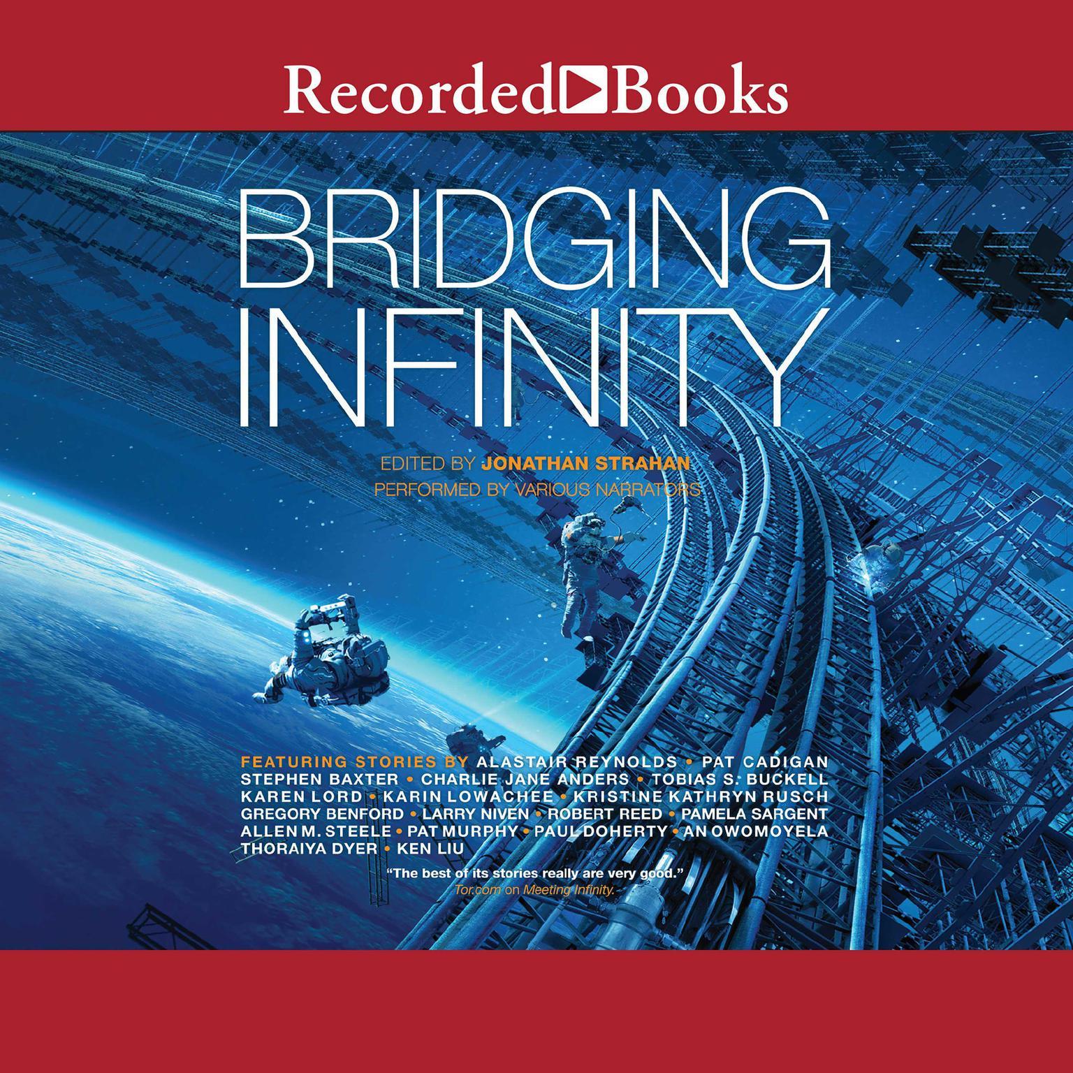 Printable Bridging Infinity Audiobook Cover Art