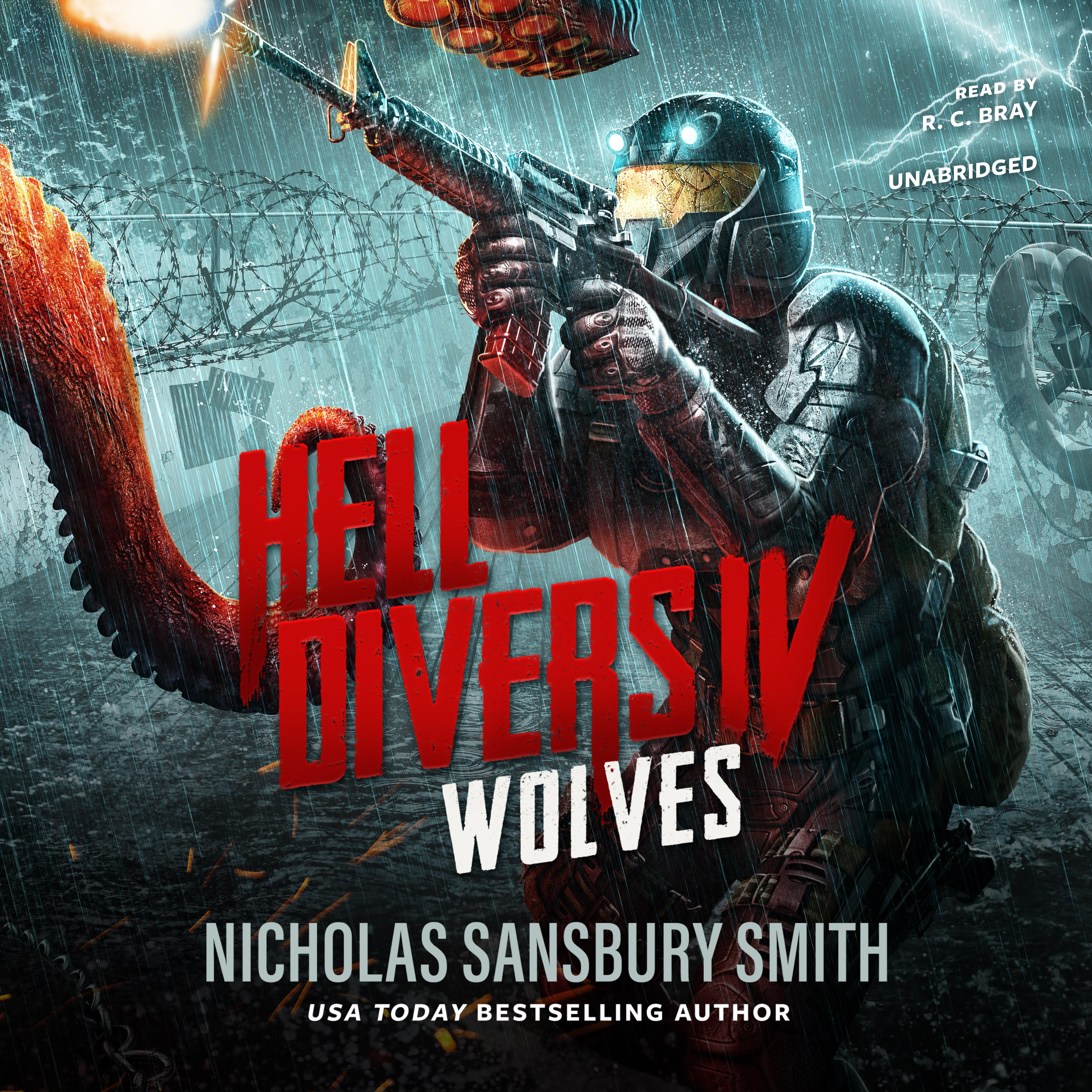 Printable Hell Divers IV: Wolves Audiobook Cover Art