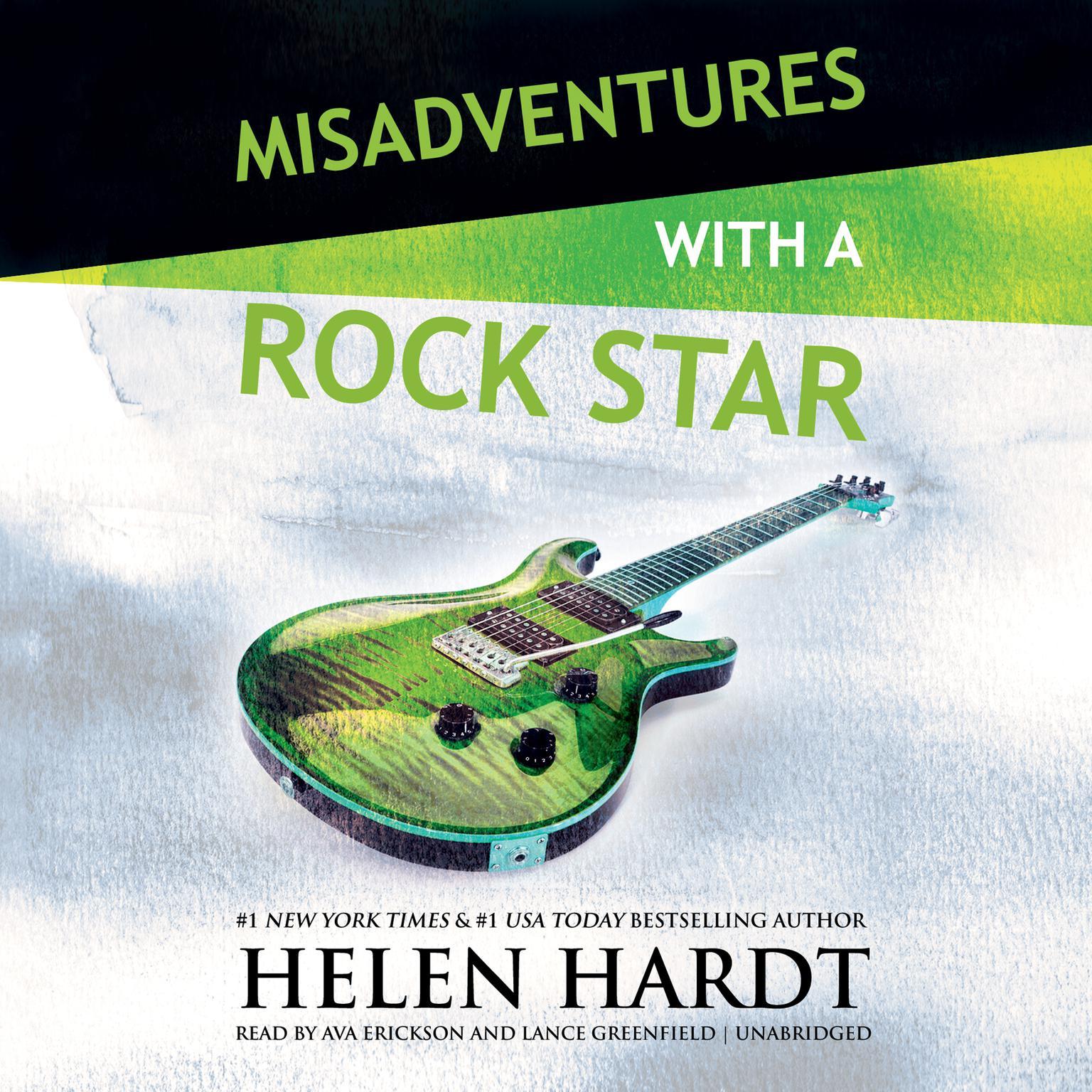 Misadventures with a Rock Star Audiobook, by Helen Hardt