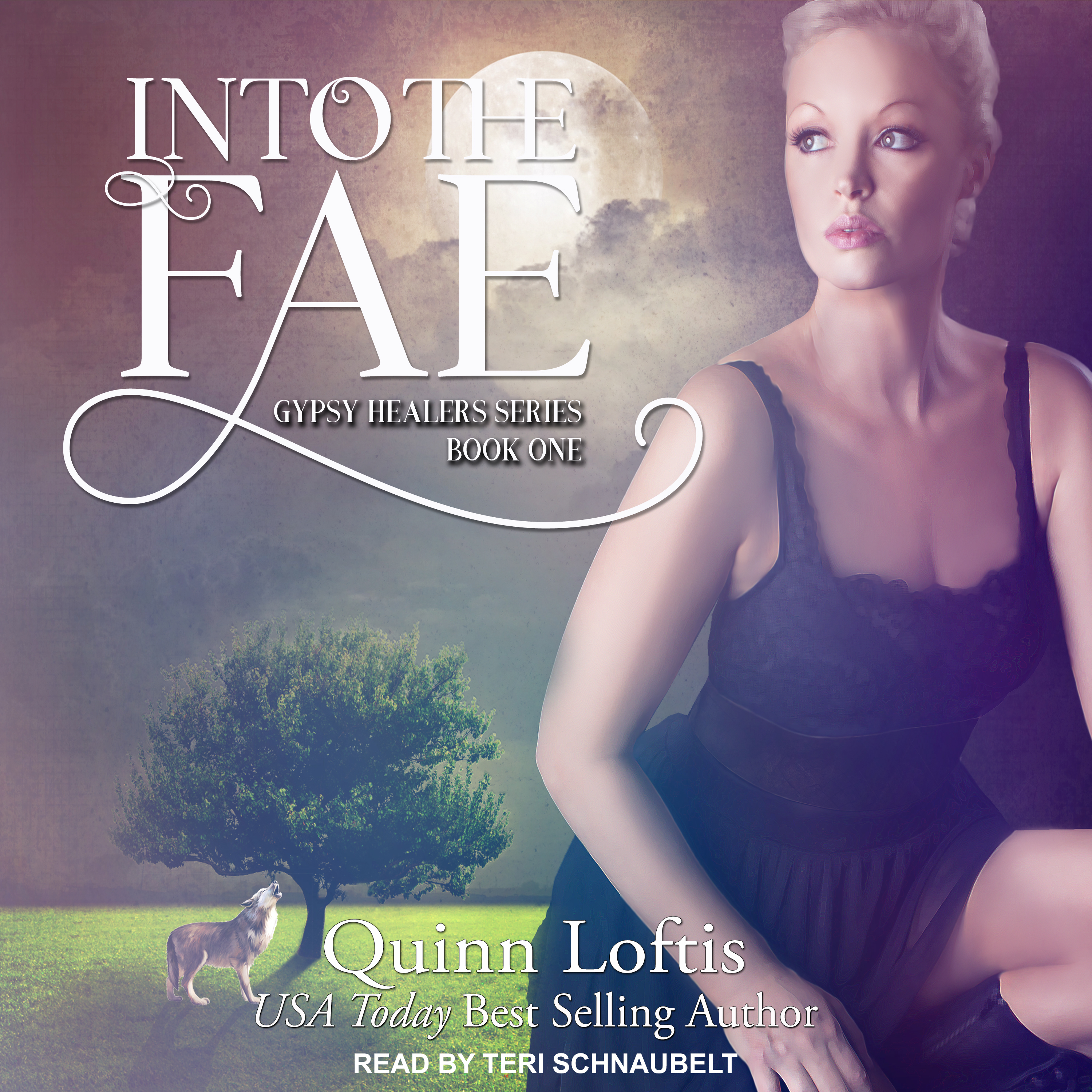 Printable Into the Fae Audiobook Cover Art