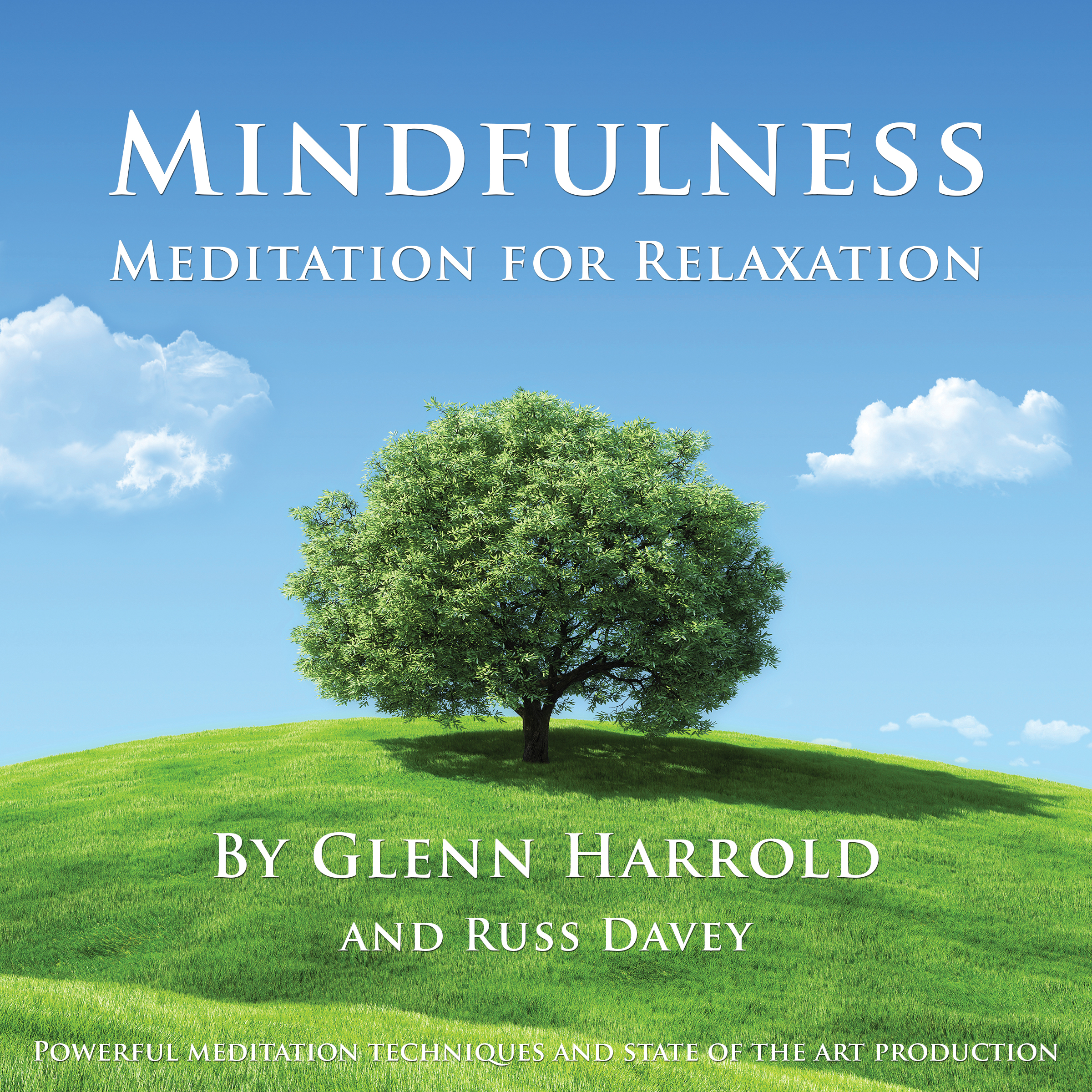 Printable Mindfulness Meditation for Relaxation Audiobook Cover Art