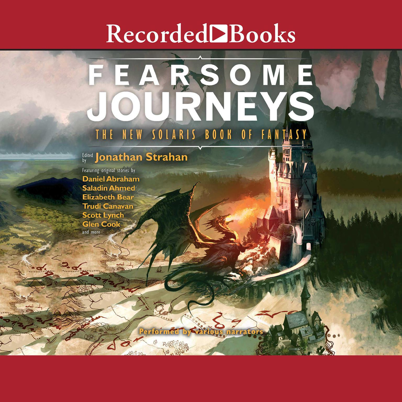 Printable Fearsome Journeys Audiobook Cover Art