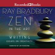 Zen in the Art of Writing Audiobook, by Ray Bradbury