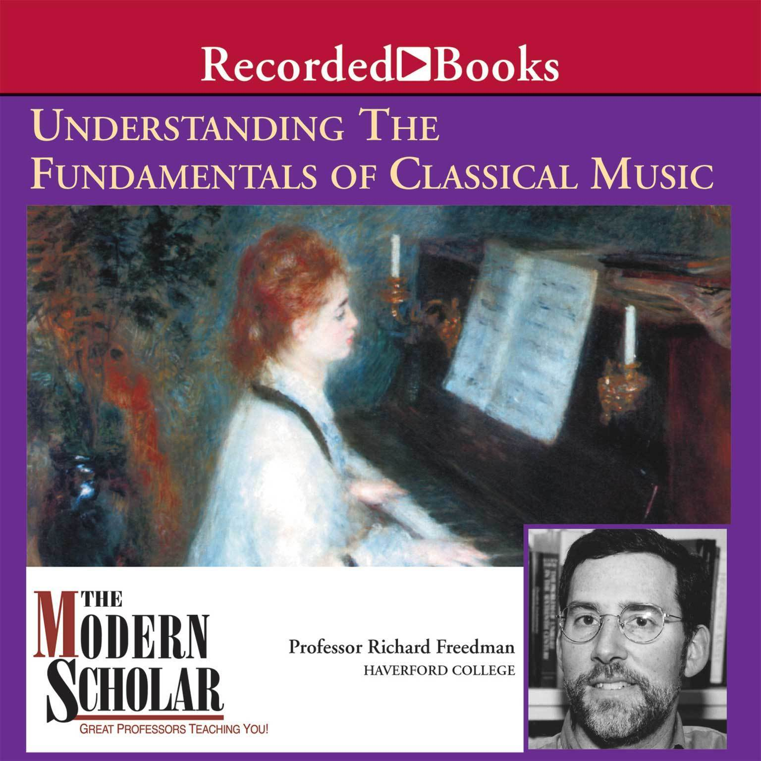 Printable Understanding the Fundamentals of Classical Music Audiobook Cover Art