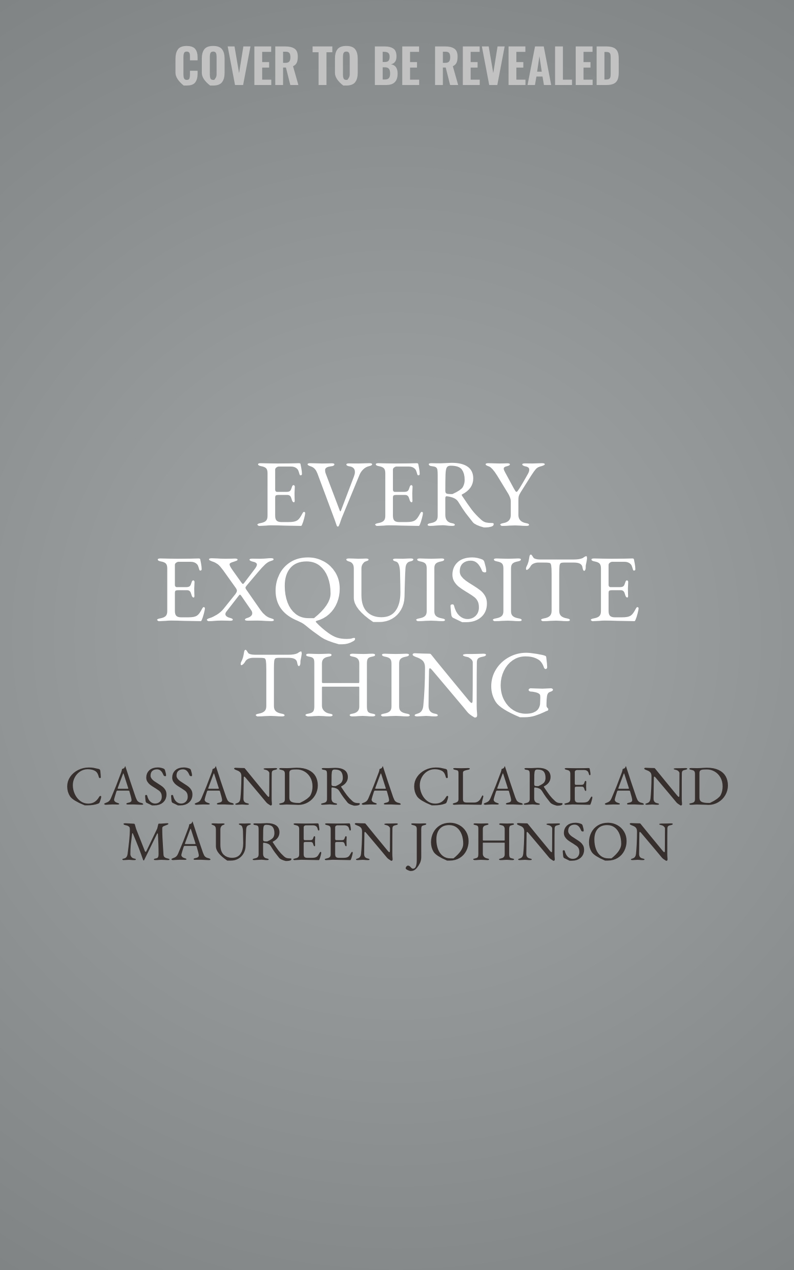 Printable Every Exquisite Thing Audiobook Cover Art