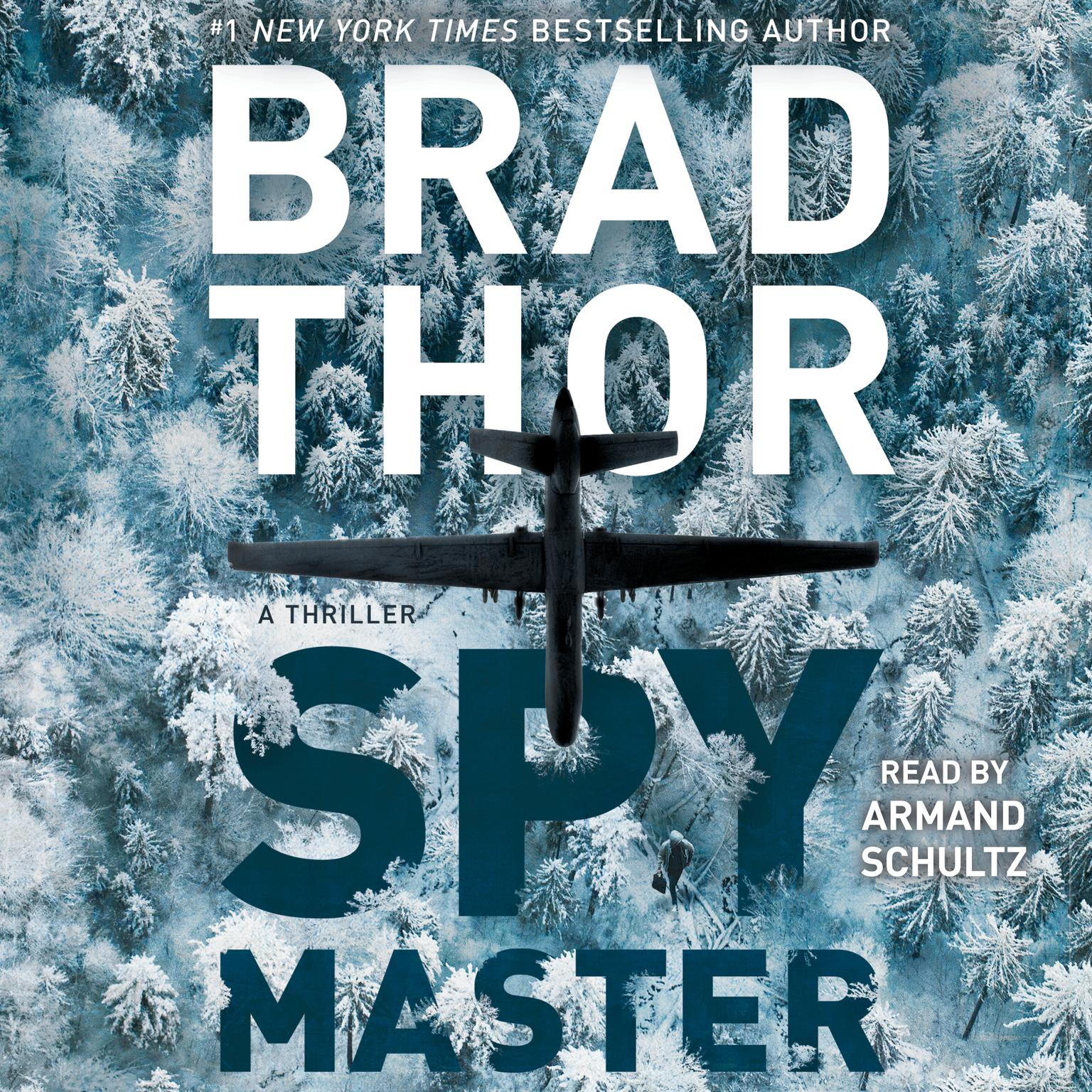 Printable Spymaster: A Thriller Audiobook Cover Art