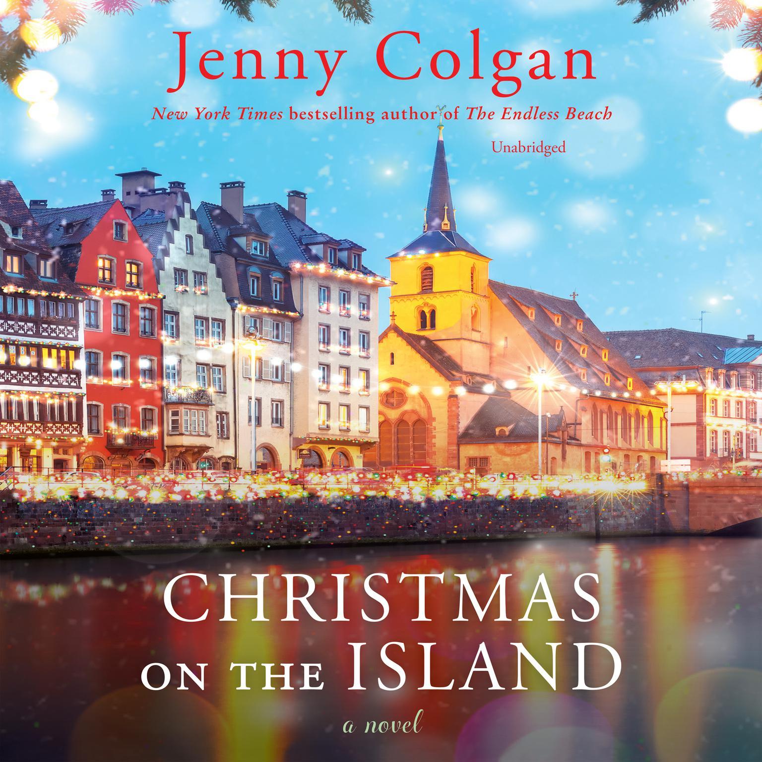 Printable Christmas on the Island: A Novel Audiobook Cover Art