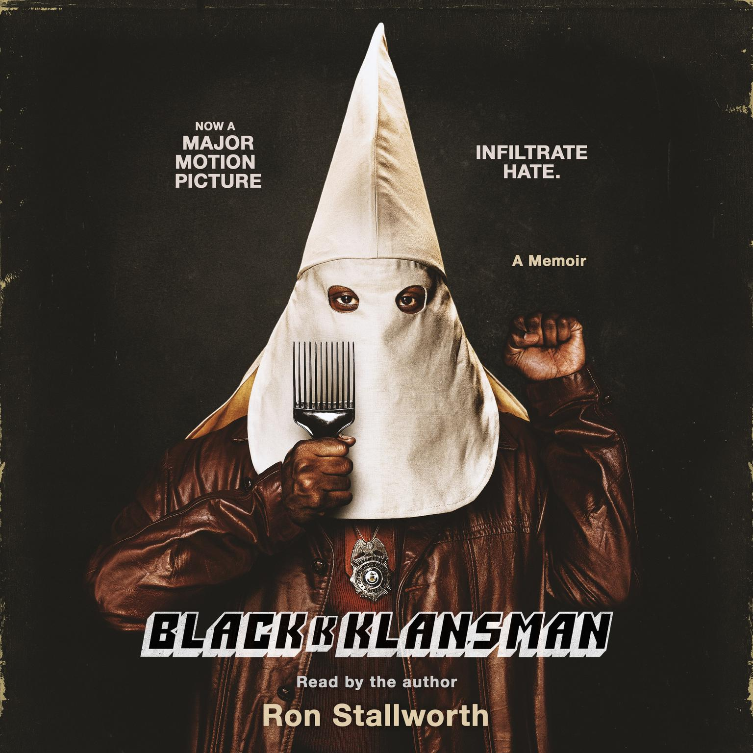 Printable Black Klansman: Race, Hate, and the Undercover Investigation of a Lifetime Audiobook Cover Art