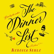 The Dinner List: A Novel Audiobook, by Rebecca Serle