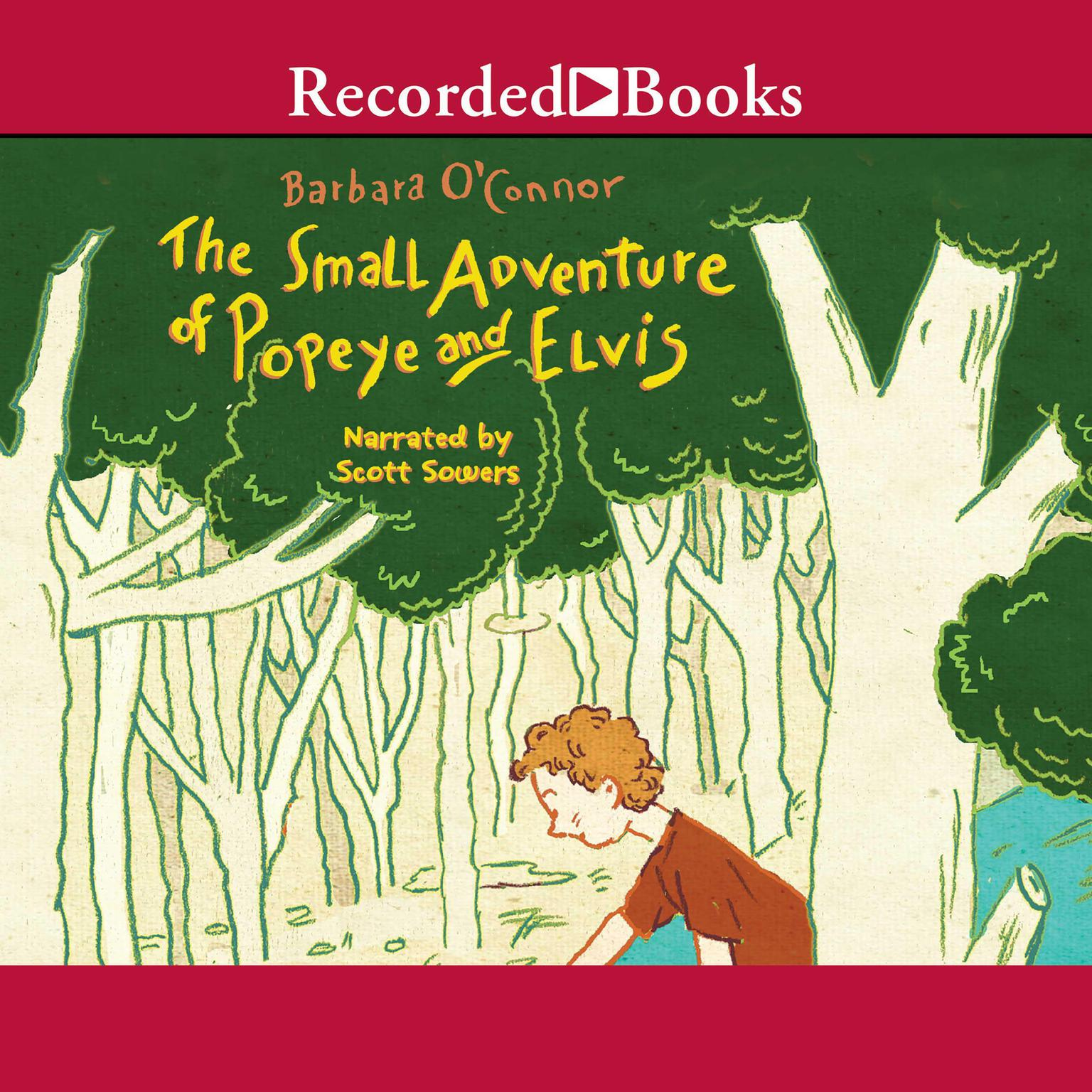 Printable The Small Adventure of Popeye and Elvis Audiobook Cover Art