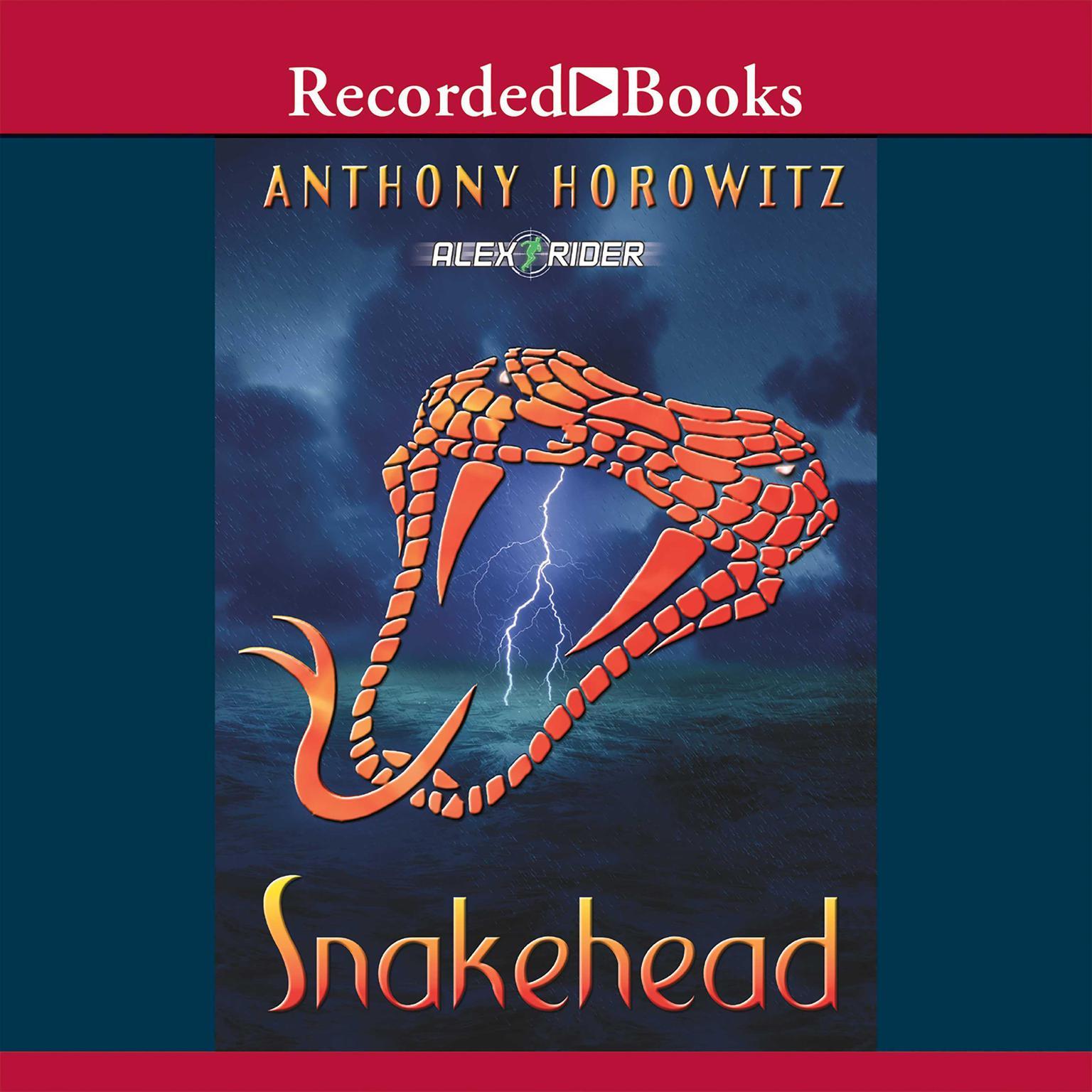 Printable Snakehead Audiobook Cover Art