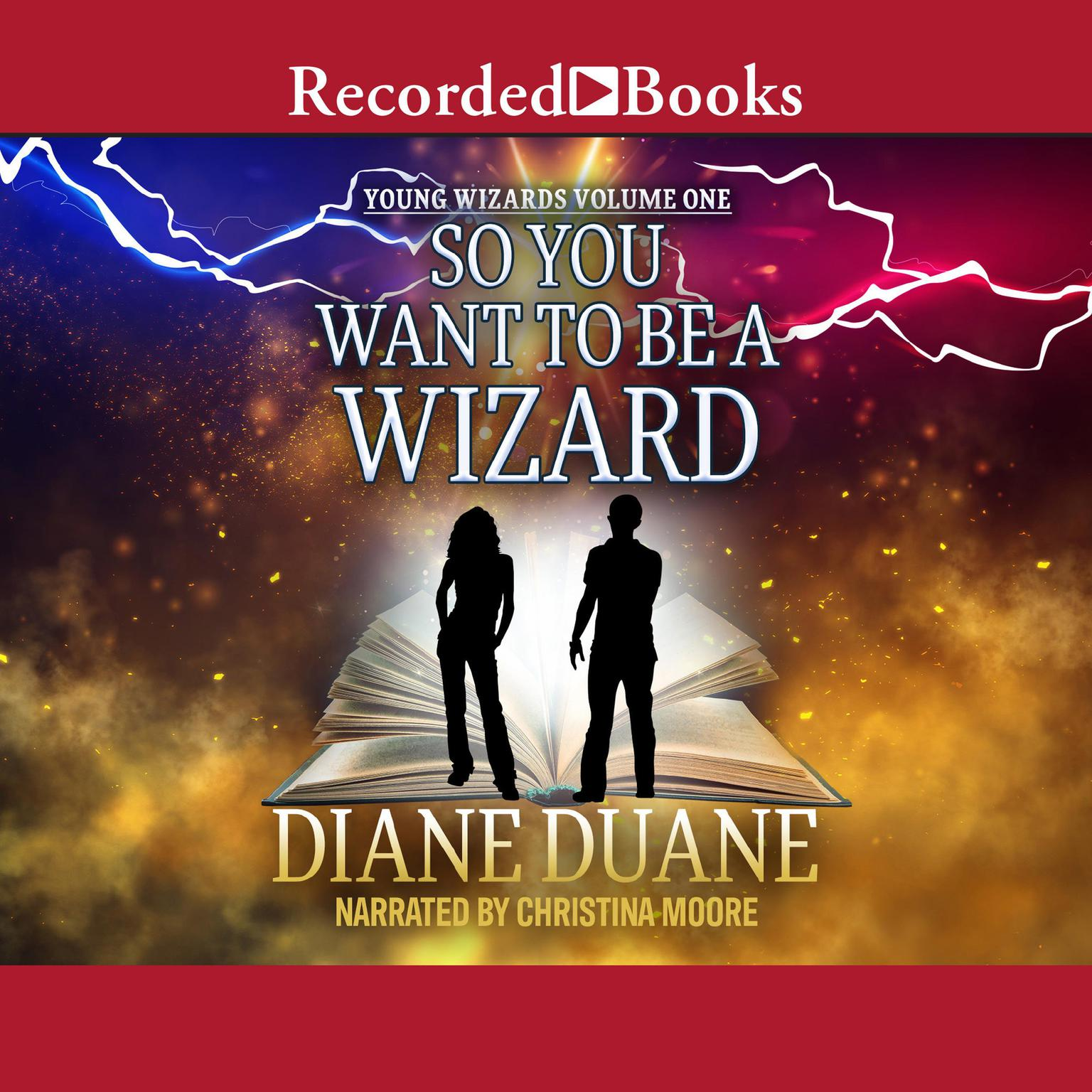 Printable So You Want to Be a Wizard Audiobook Cover Art