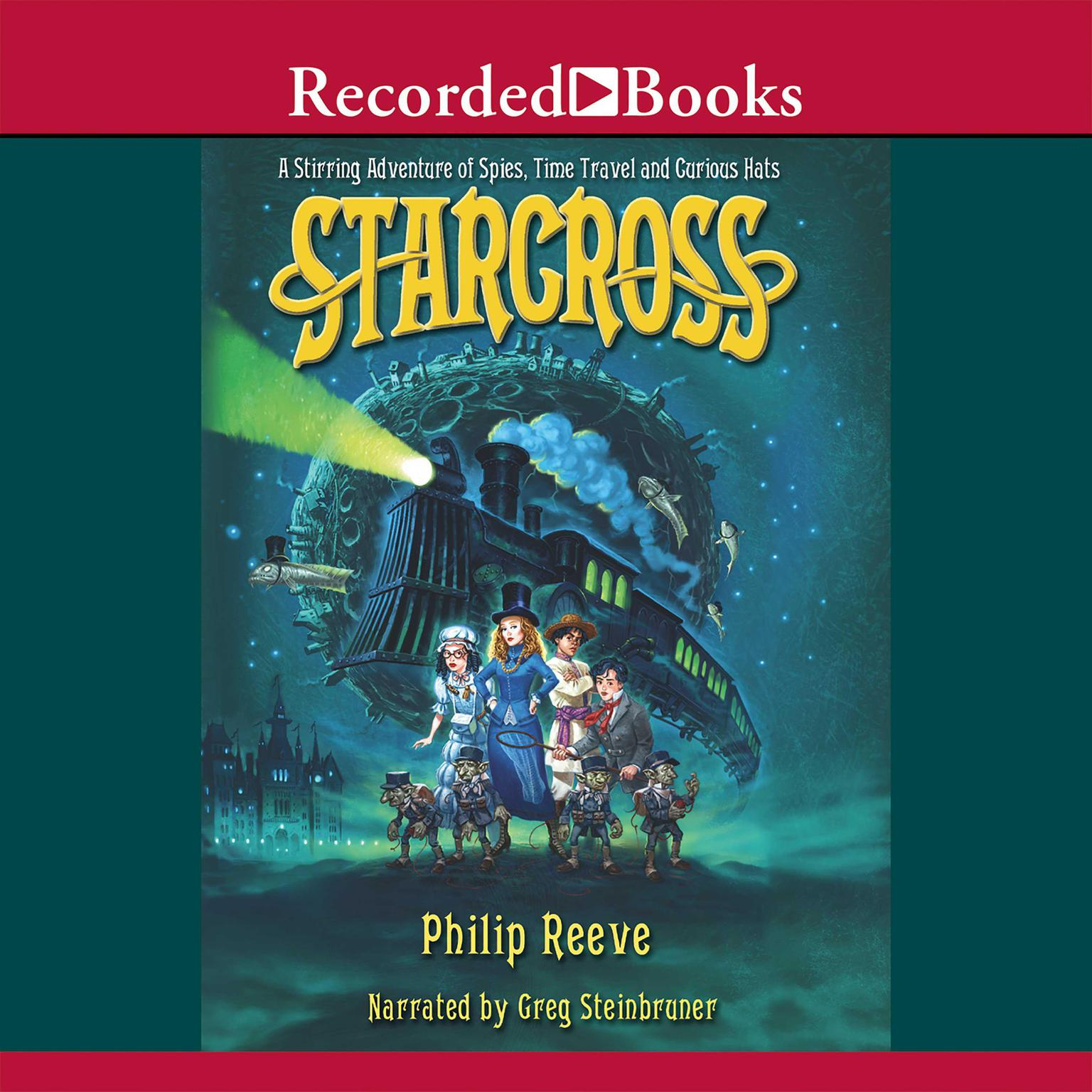 Printable Starcross: An Intergalactic Adventure of Spies and Time Travel Audiobook Cover Art