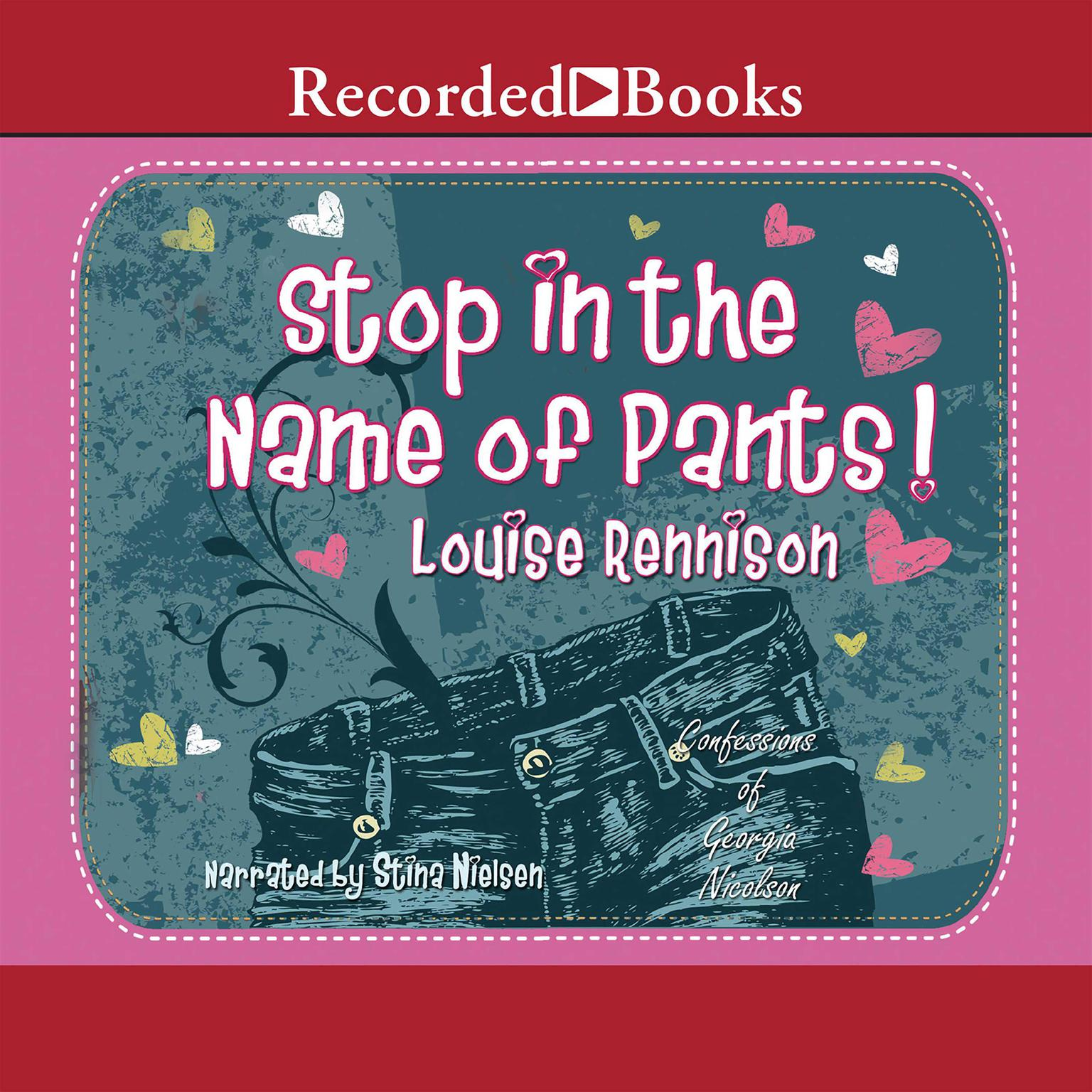 Printable Stop in the Name of Pants! Audiobook Cover Art