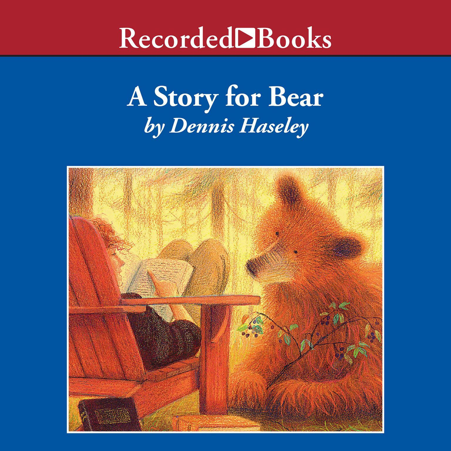 Printable A Story for Bear Audiobook Cover Art