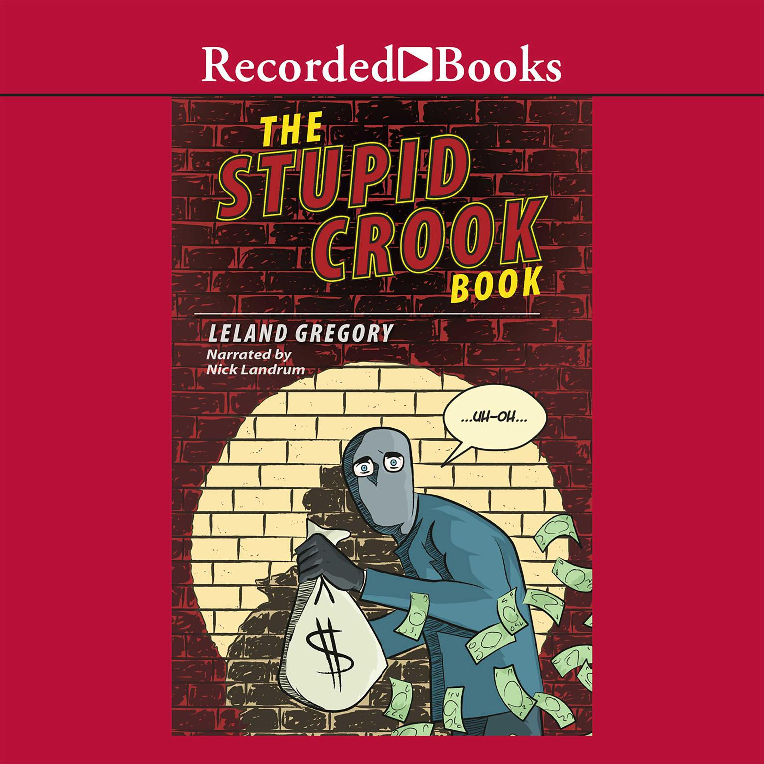 Printable The Stupid Crook Book Audiobook Cover Art