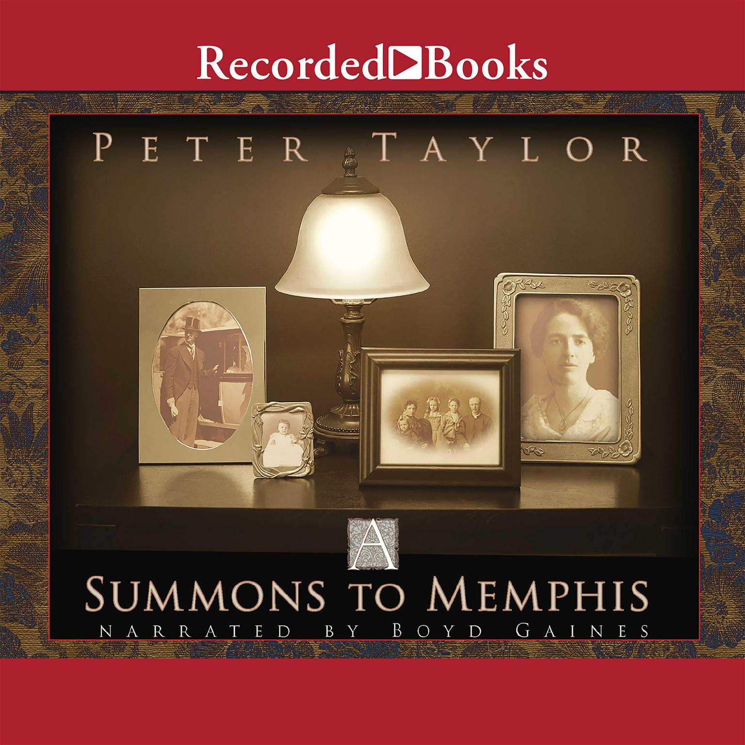 Printable A Summons to Memphis Audiobook Cover Art
