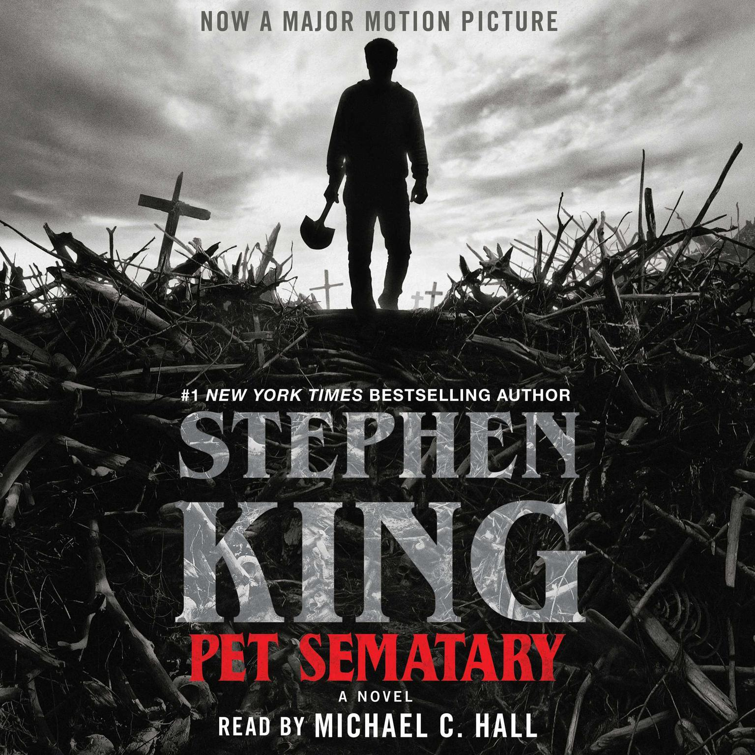 Printable Pet Sematary: A Novel Audiobook Cover Art