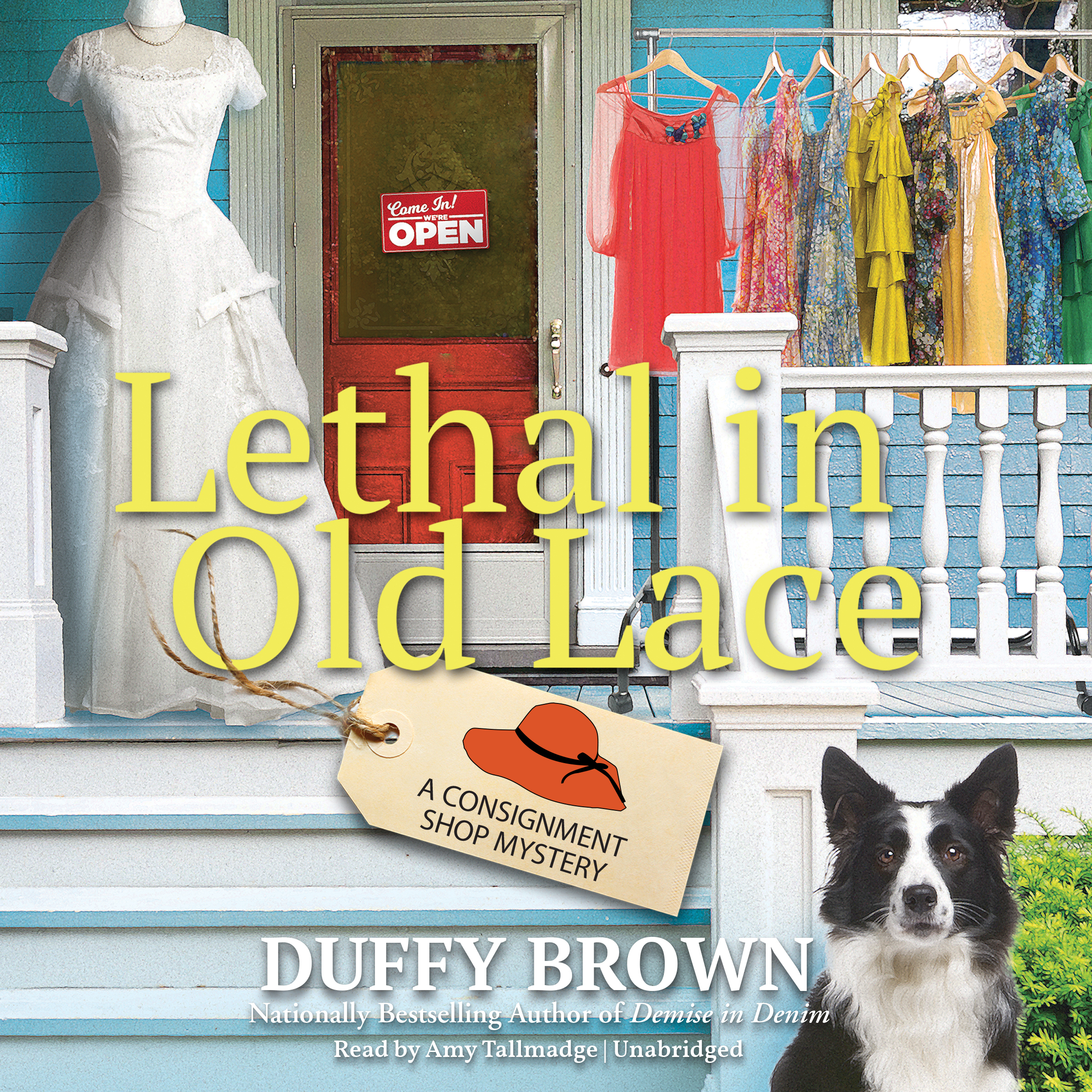 Printable Lethal in Old Lace: A Consignment Shop Mystery Audiobook Cover Art