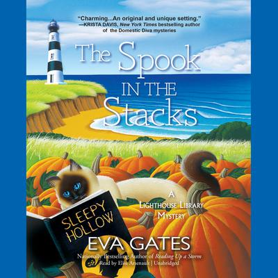 The Spook in the Stacks: A Lighthouse Library Mystery Audiobook, by