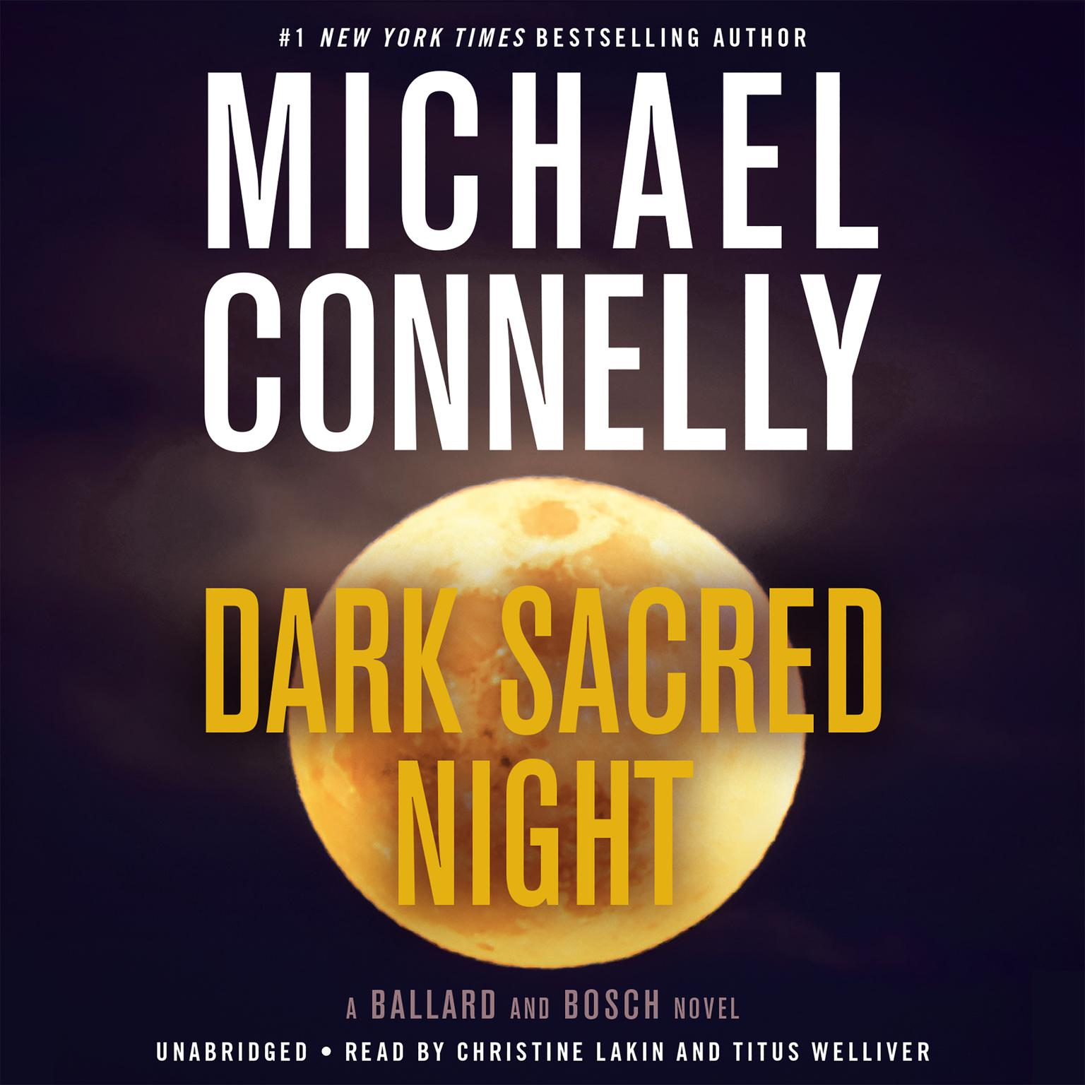 Printable Dark Sacred Night Audiobook Cover Art