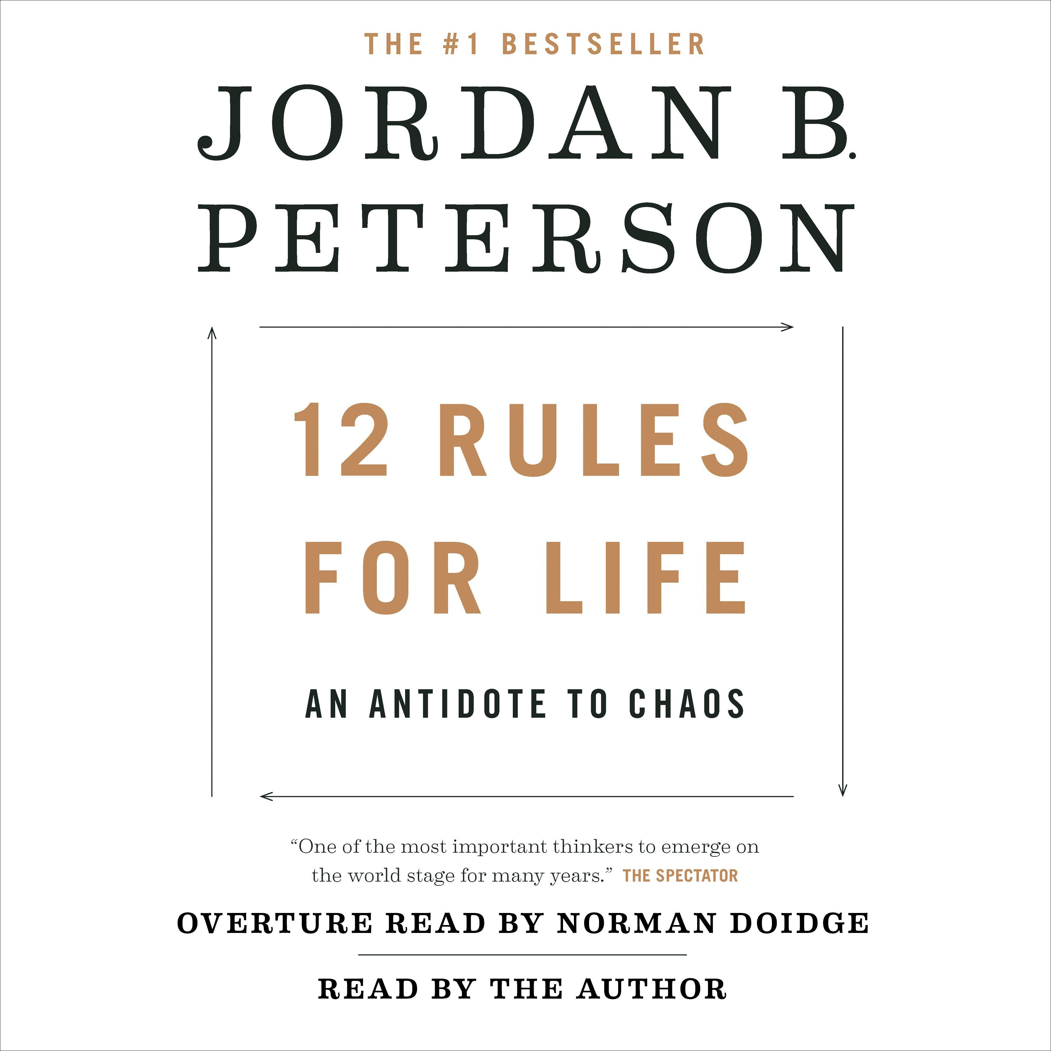 Printable 12 Rules for Life: An Antidote to Chaos Audiobook Cover Art