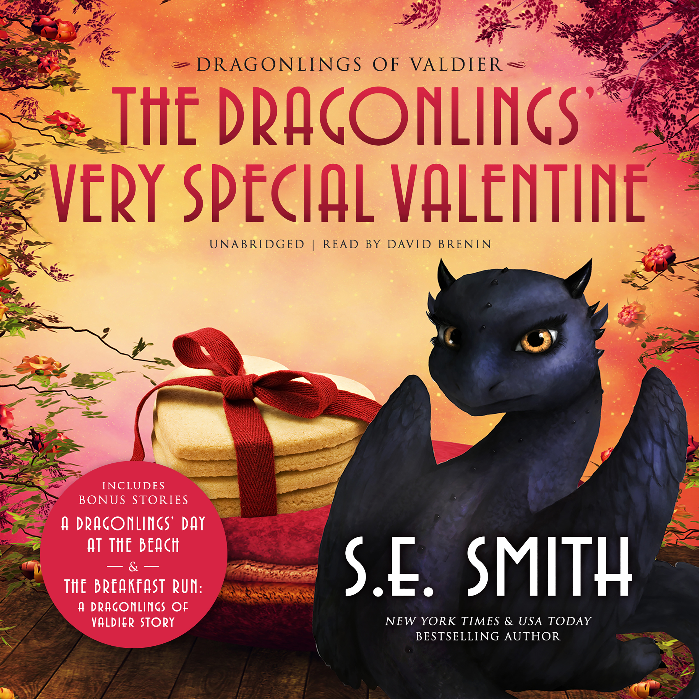 Printable The Dragonlings' Very Special Valentine Audiobook Cover Art