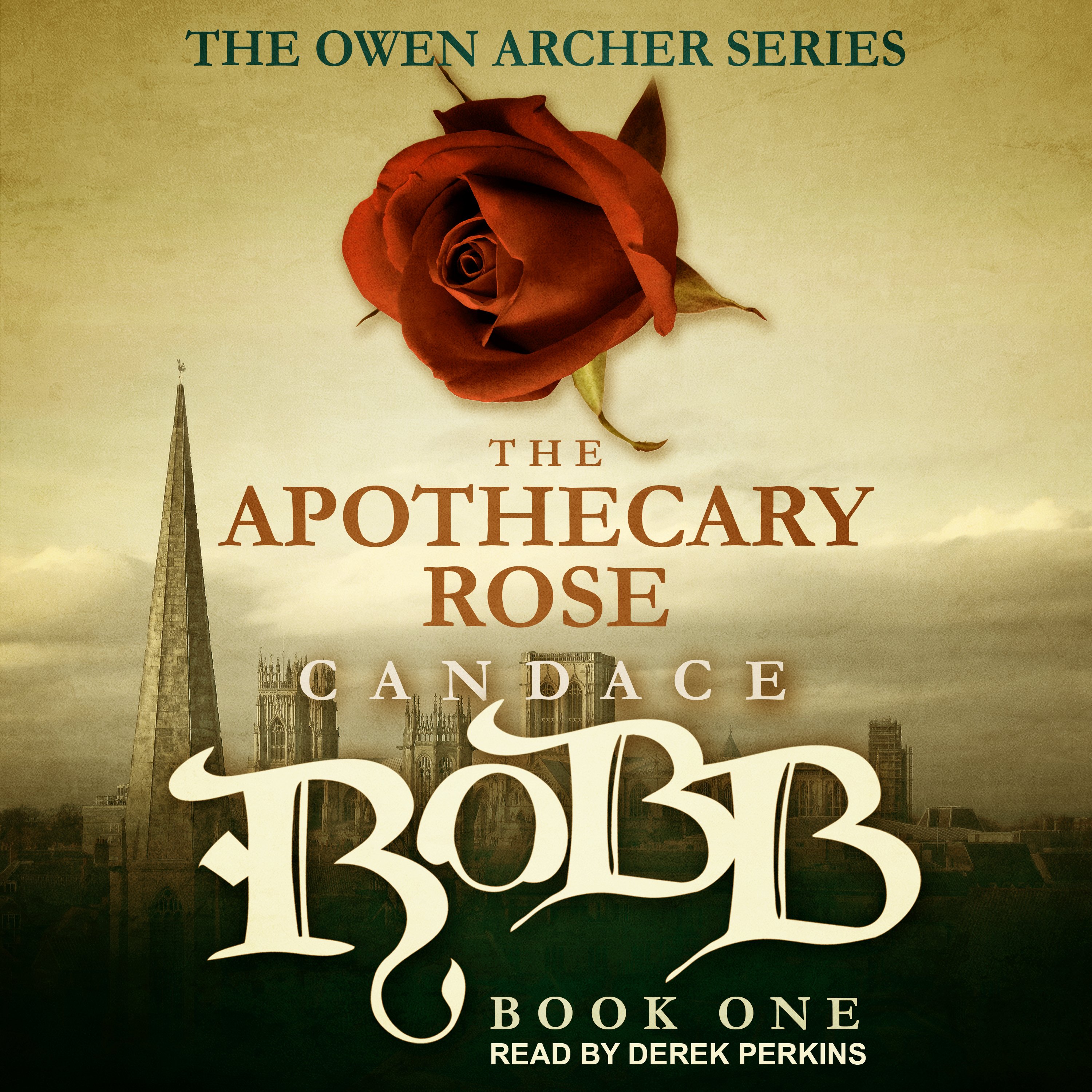 Printable The Apothecary Rose Audiobook Cover Art