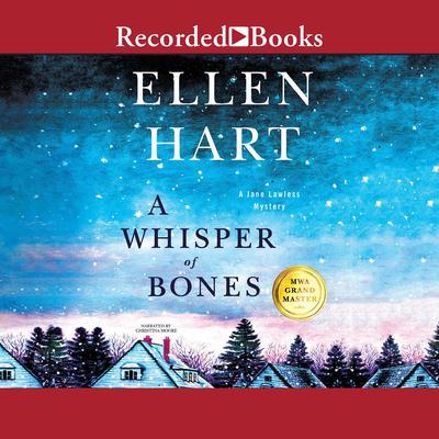 A Whisper of Bones Audiobook, by Ellen Hart