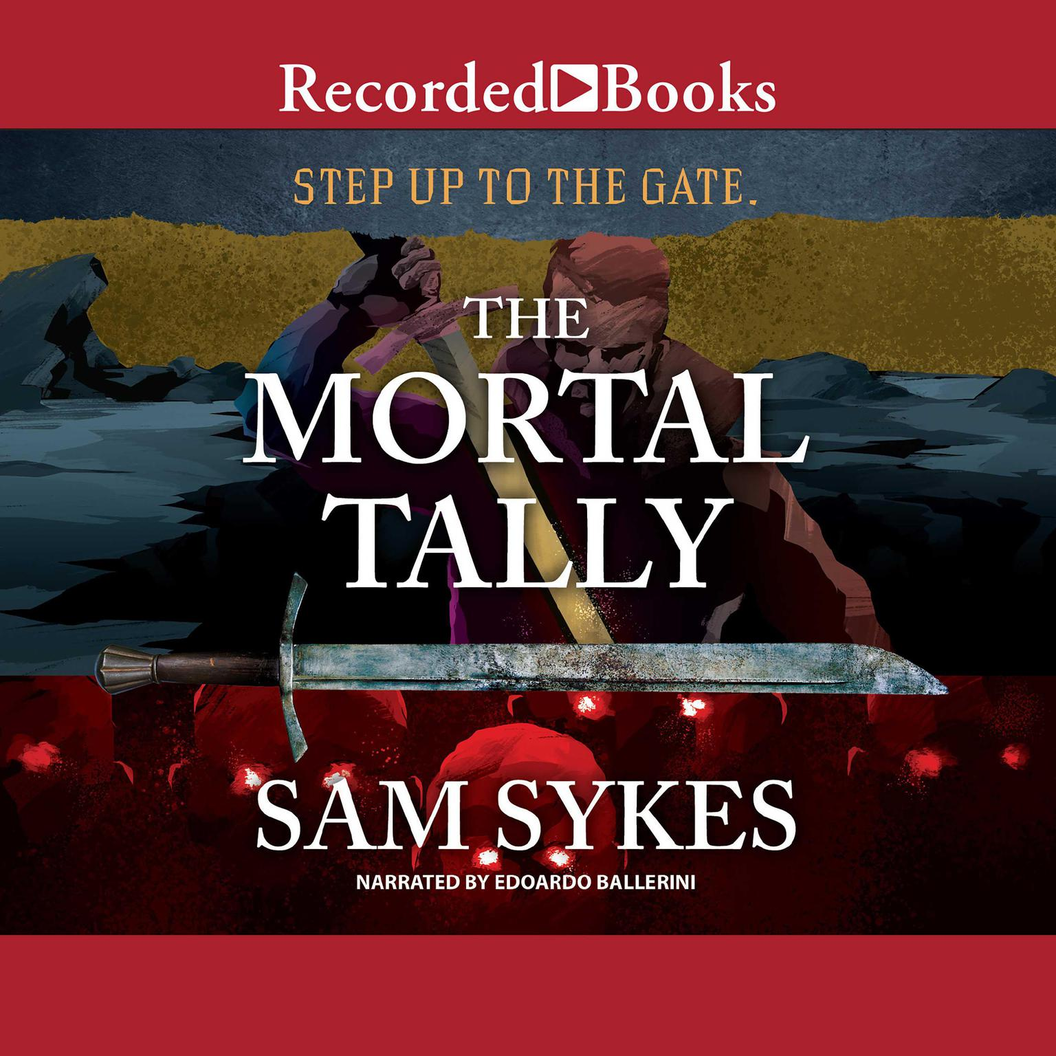 Printable The Mortal Tally Audiobook Cover Art