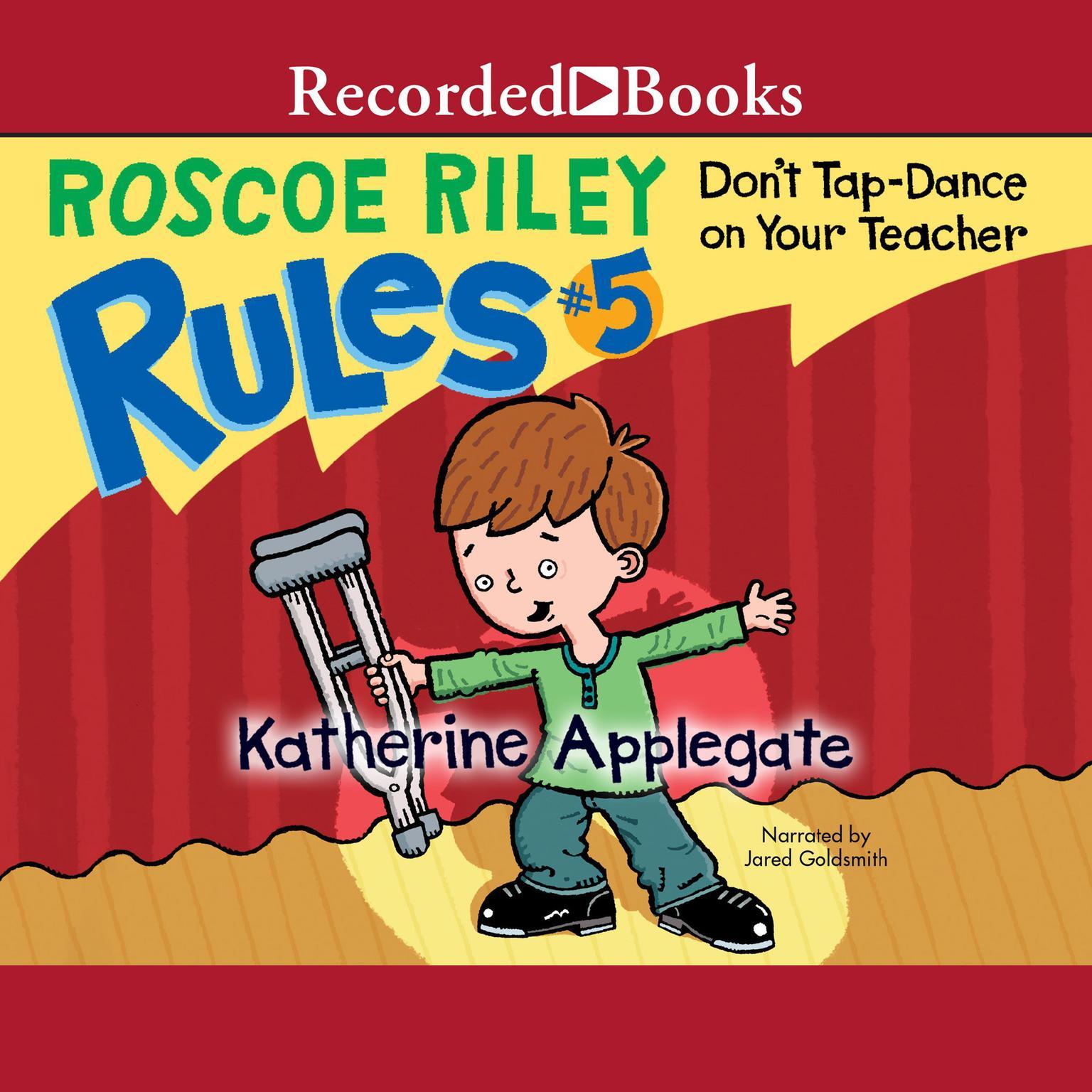 Printable Don't Tap Dance On Your Teacher Audiobook Cover Art