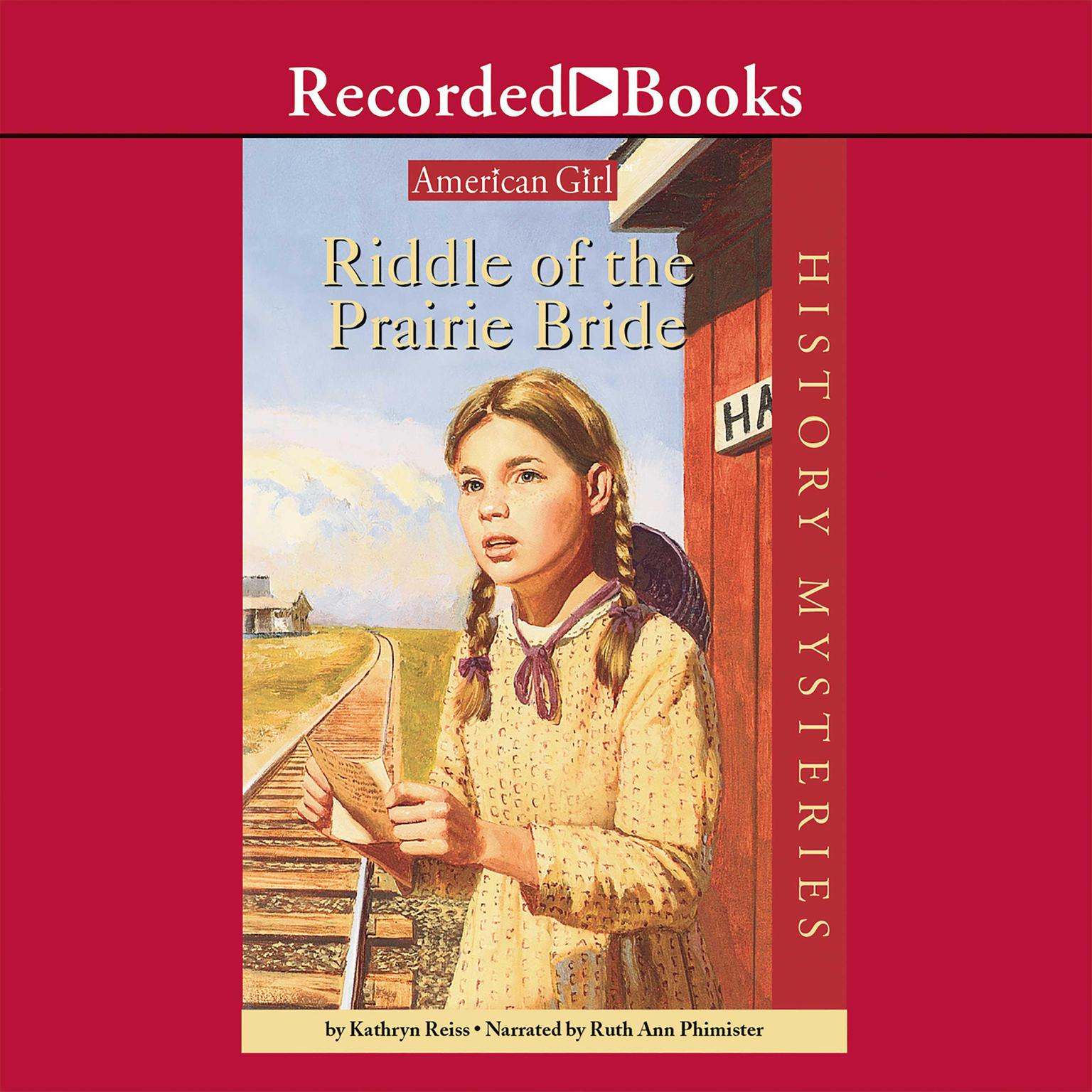 Printable Riddle of the Prairie Bride Audiobook Cover Art