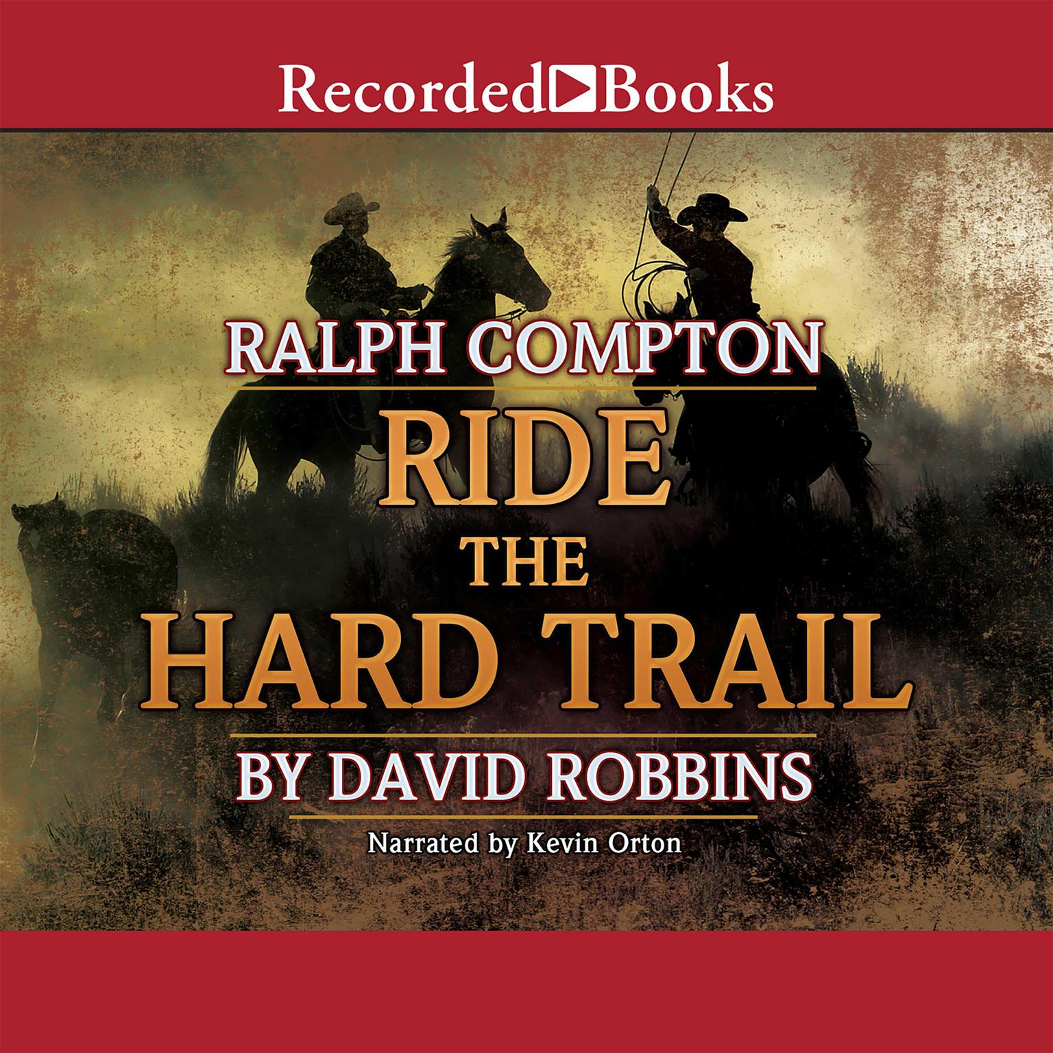 Printable Ralph Compton Ride the Hard Trail Audiobook Cover Art