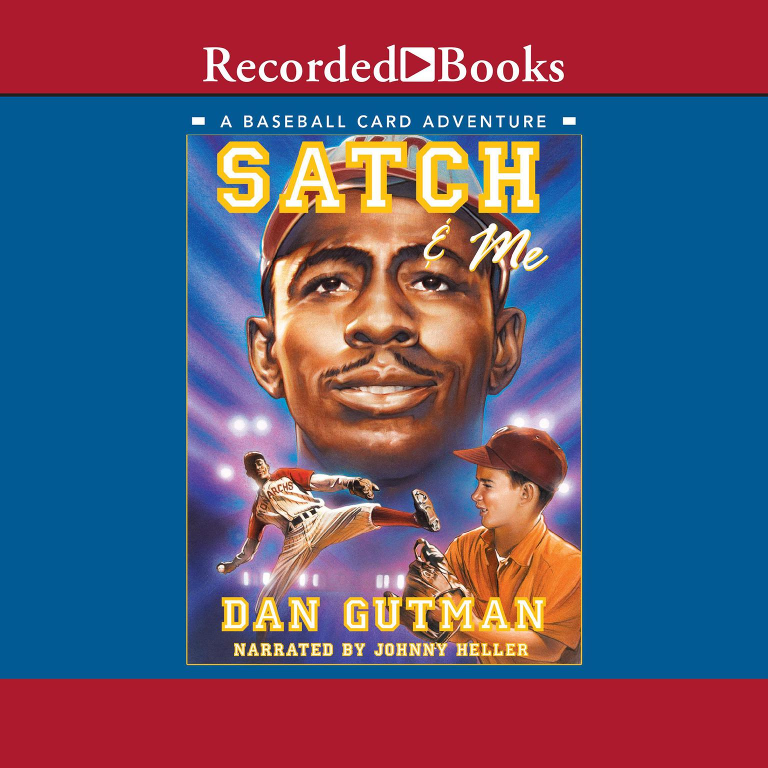 Printable Satch & Me Audiobook Cover Art