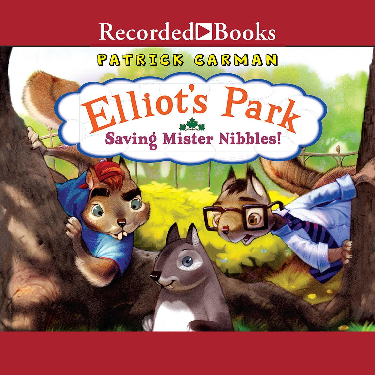 Printable Saving Mr. Nibbles! Audiobook Cover Art