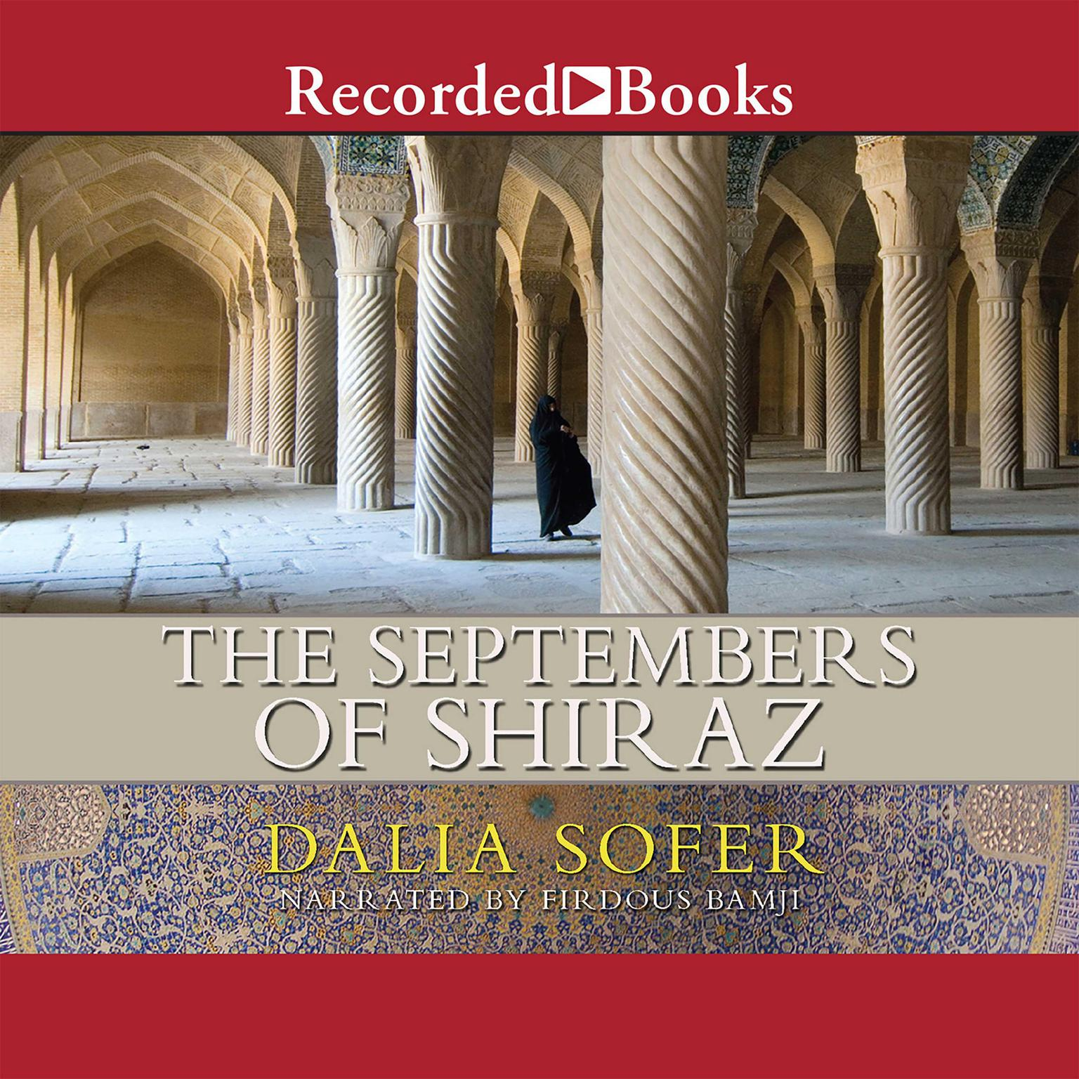 Printable The Septembers of Shiraz Audiobook Cover Art