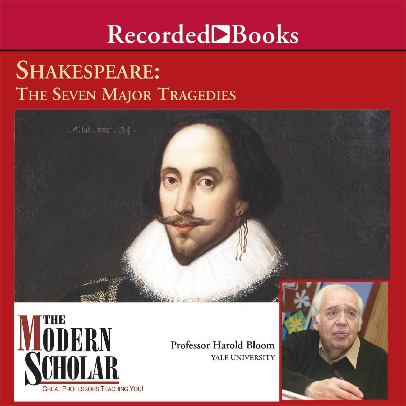 Printable Shakespeare: The Seven Major Tragedies Audiobook Cover Art
