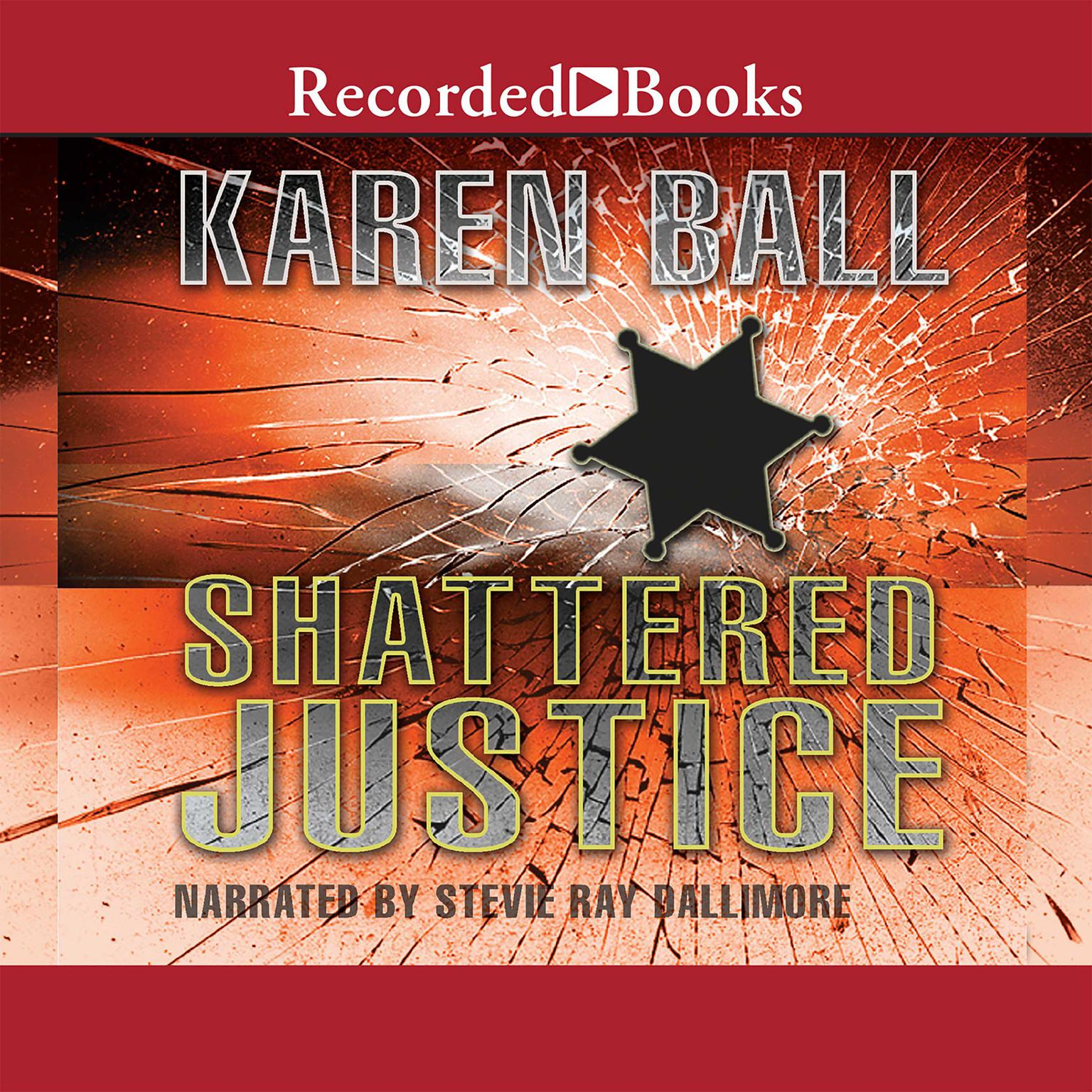 Printable Shattered Justice Audiobook Cover Art
