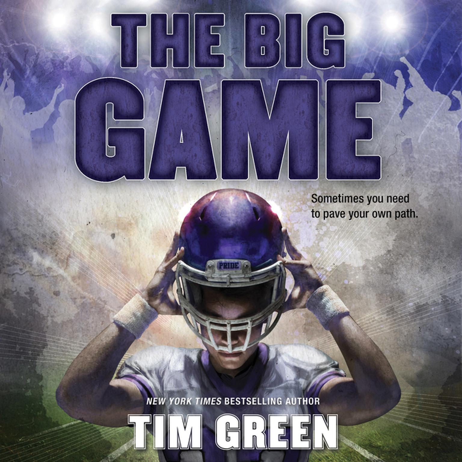 Printable The Big Game Audiobook Cover Art