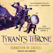 Tyrant's Throne Audiobook, by Sebastien de Castell|