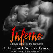 Inferno Audiobook, by Brooke Asher, L. Wilder
