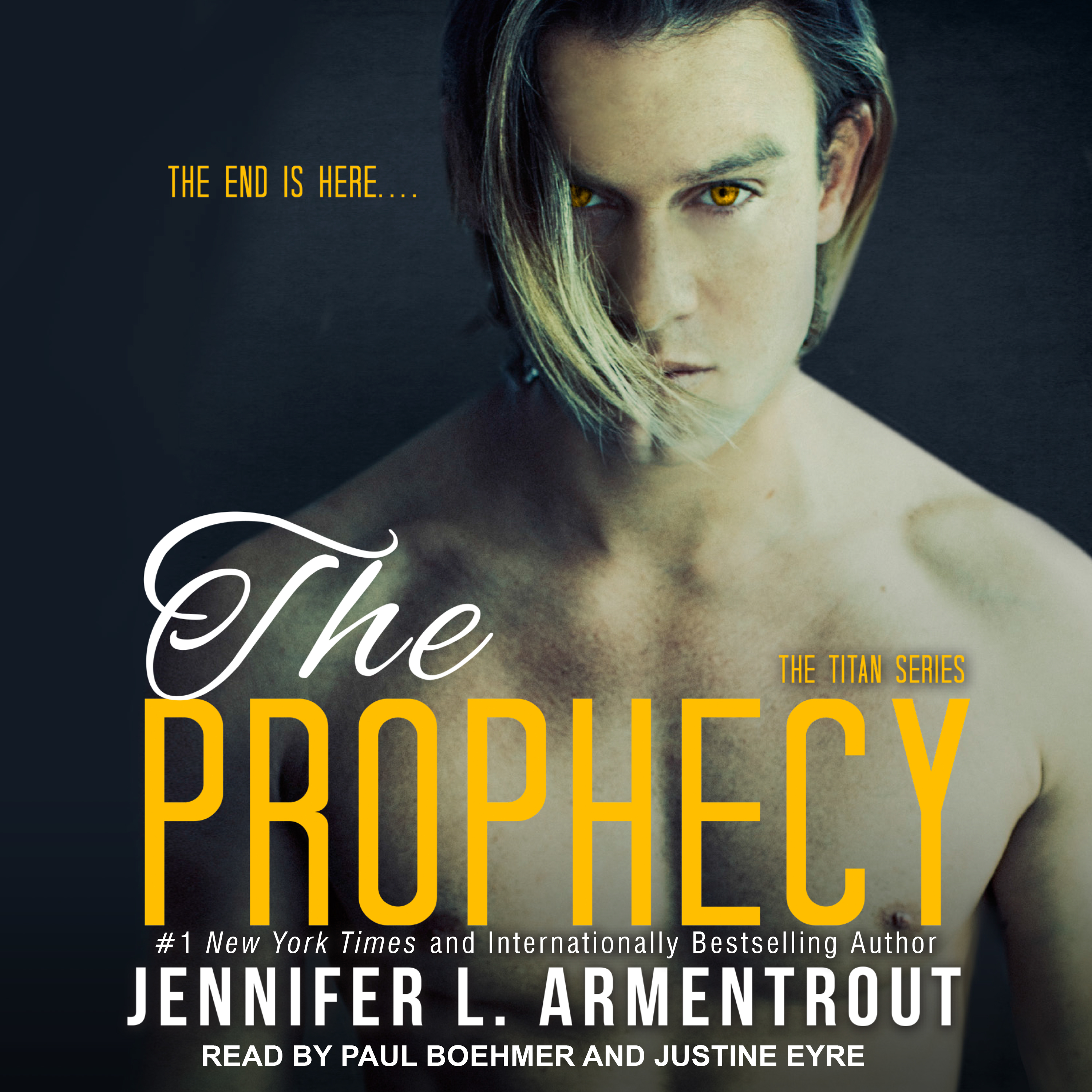 Printable The Prophecy Audiobook Cover Art
